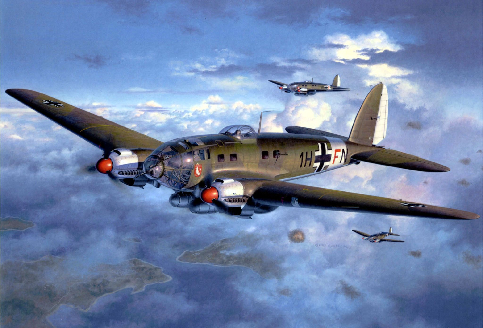 Сглобяем модел на военен самолет Revell - Heinkel He111 H-6 (04377) - 2