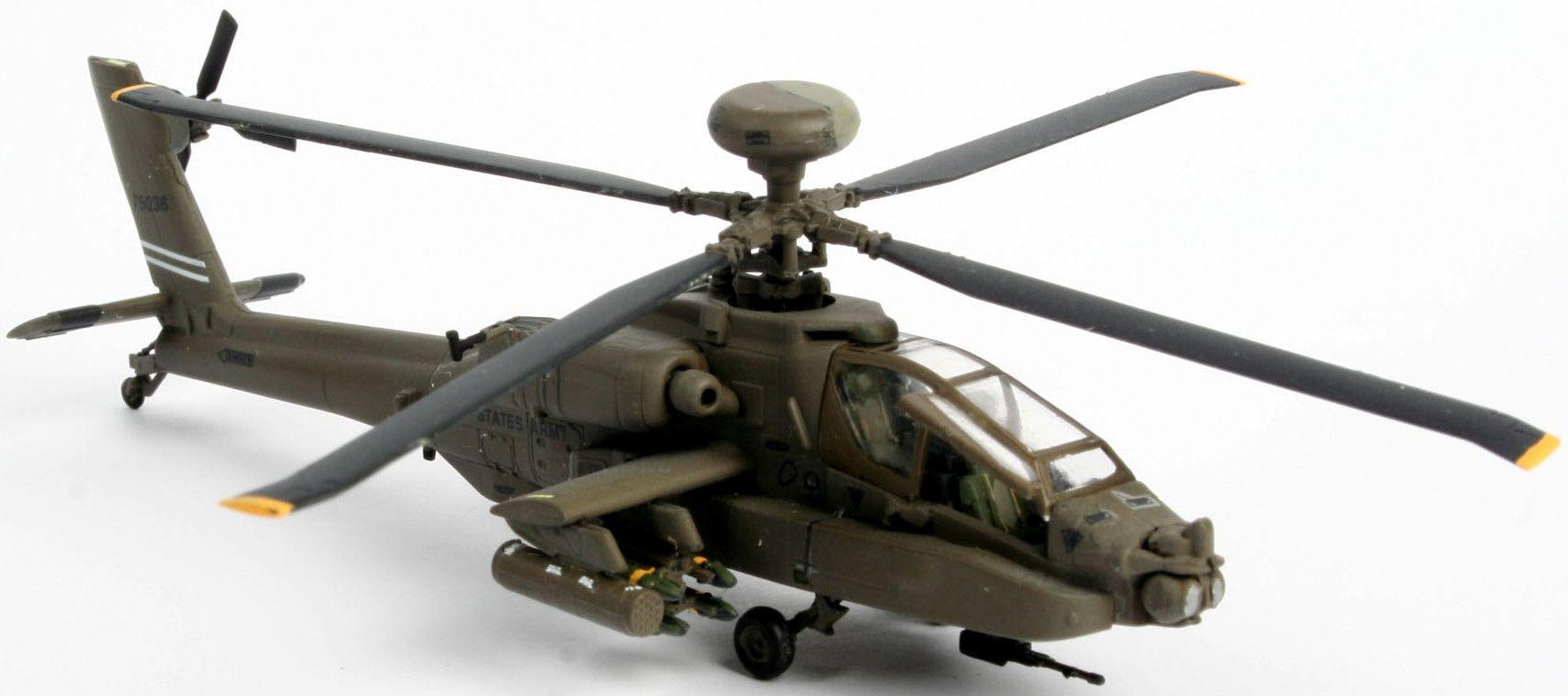 Сглобяем модел на хеликоптер Revell - AH-64D Longbow Apache (04046) - 2