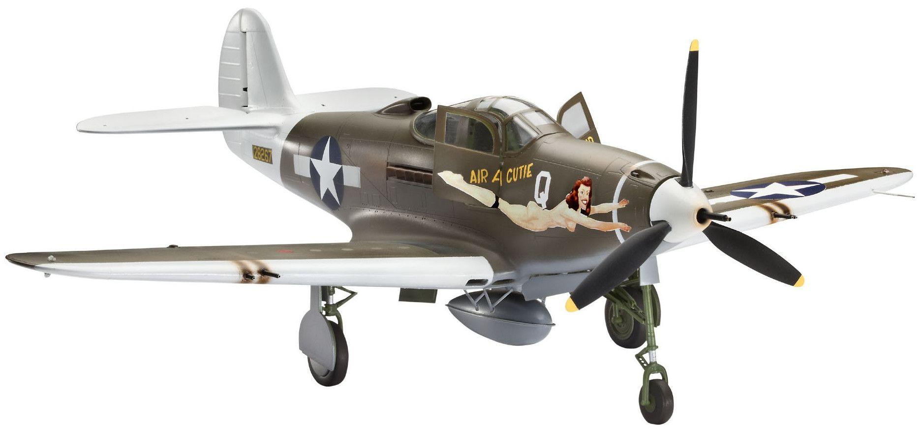 Сглобяем модел на военен самолет Revell - P-39D Airacobra (04868) - 1