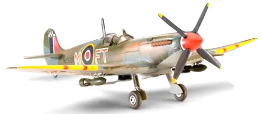 Сглобяем модел на военен самолет Revell - Supermarine SPITFIRE Mk.IX/XVI (04554) - 1