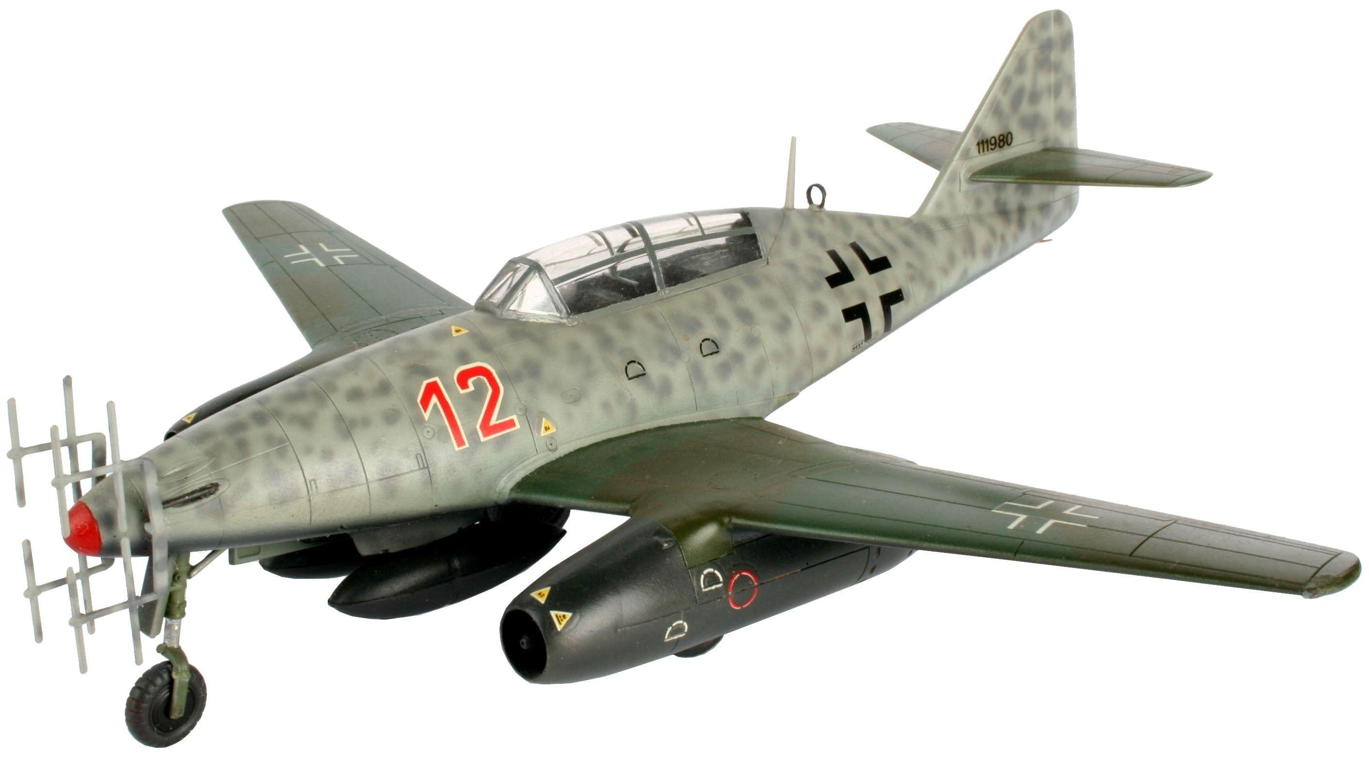 Сглобяем модел на военен самолет Revell - Me 262 B-1a/U1 Nightfighter (04179) - 1