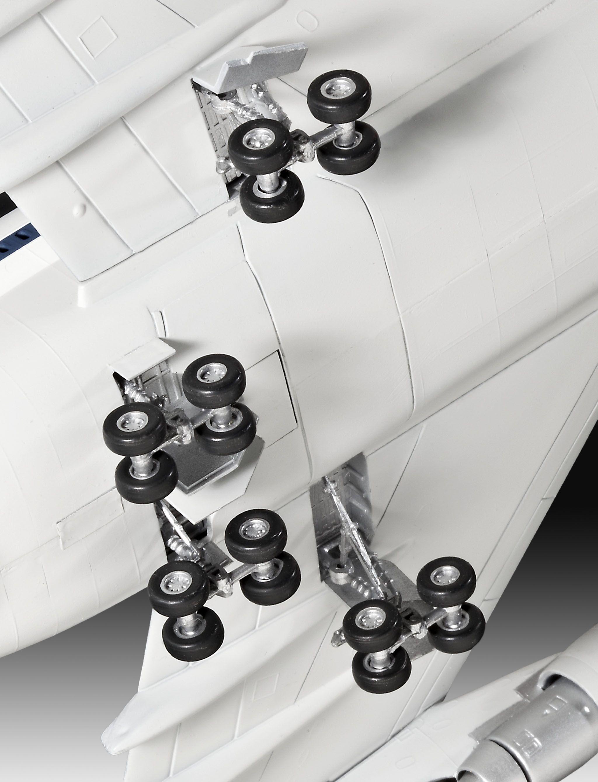 Сглобяем модел на самолет Revell - Boeing 747 SCA & Space Shuttle (04863) - 3