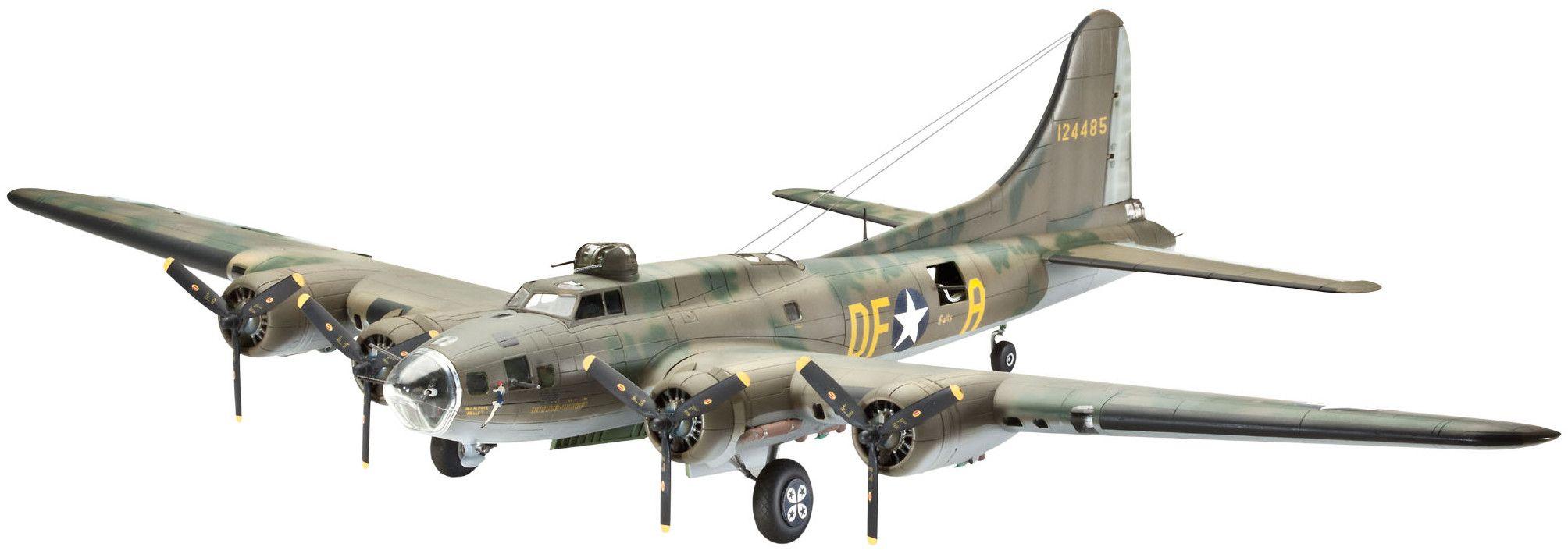 "Сглобяем модел на военен самолет Revell - B-17F ""Memphis Belle"" (04279) - 1"