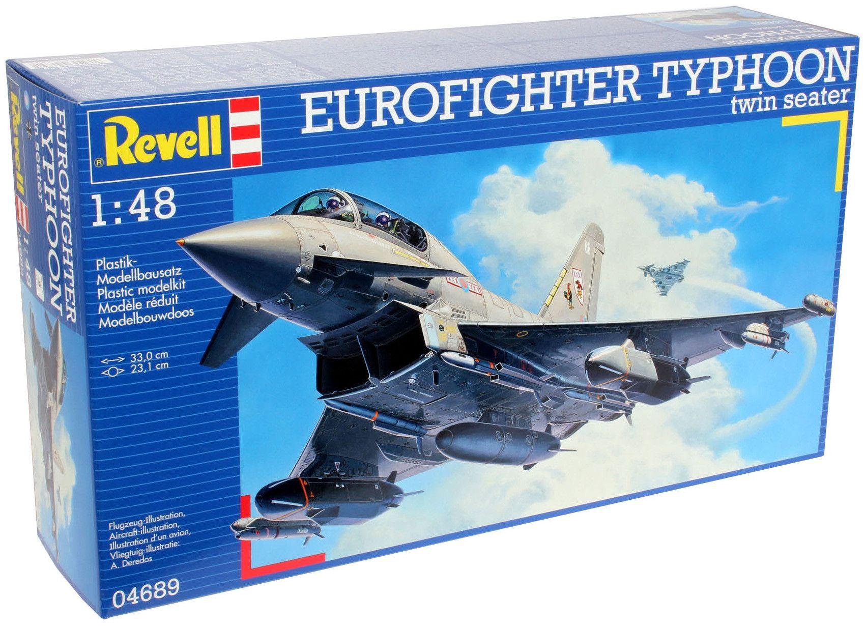 Сглобяем модел на изтребител Revell - EUROFIGHTER TYPHOON twin seater (04689) - 8