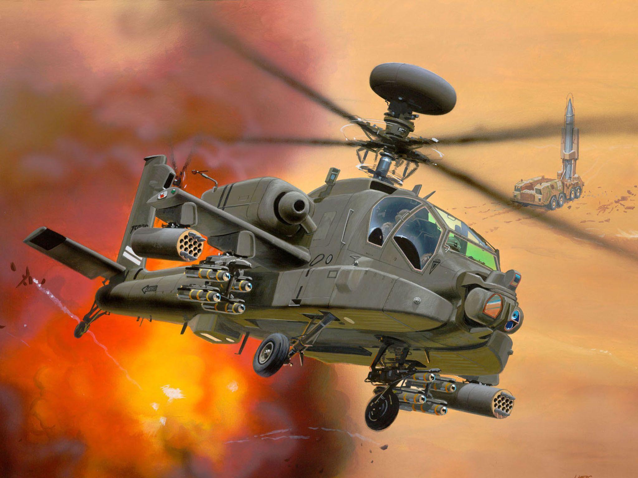 Сглобяем модел на хеликоптер Revell - AH-64D Longbow Apache (04046) - 6