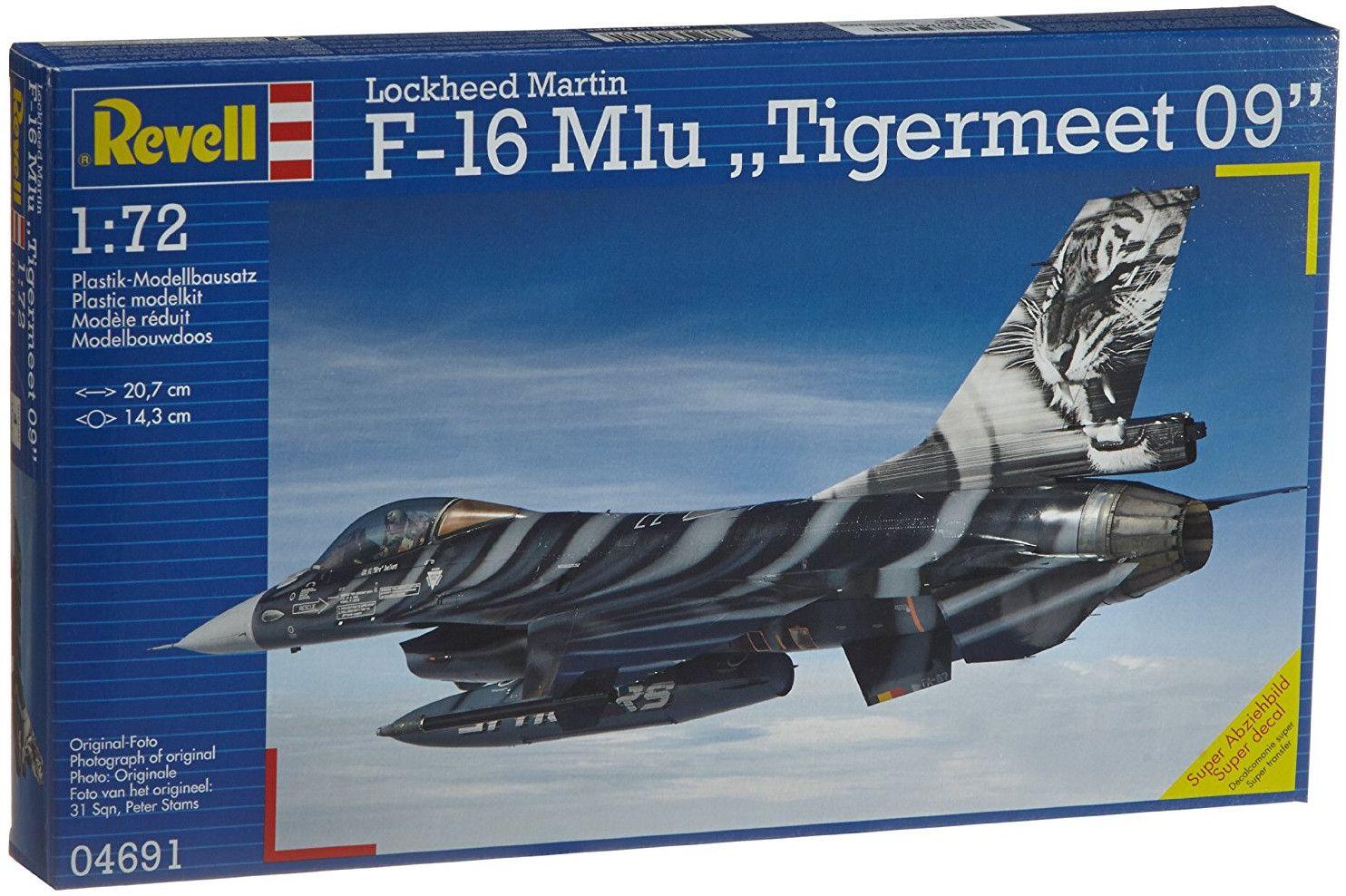 Сглобяем модел на изтребител Revell - F-16 Mlu Tigermeet 2009 (04691) - 1