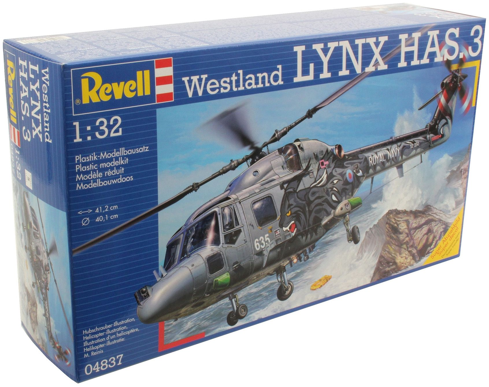 Сглобяем модел на военен хеликоптер Revell Westland - LYNX HAS.3 (04837) - 6