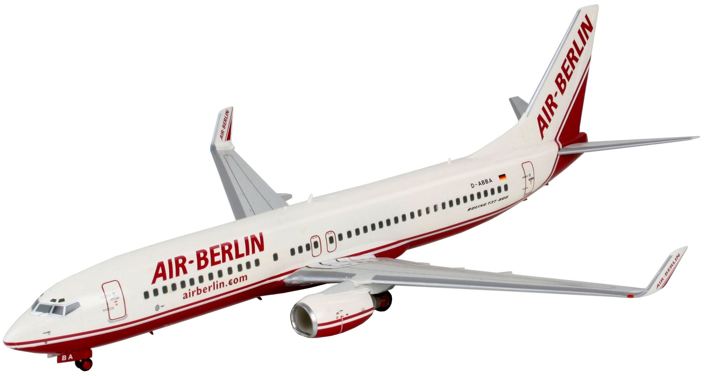 Сглобяем модел на самолет Revell - Boeing 737-800 AIR BERLIN & Winglets (04202) - 1