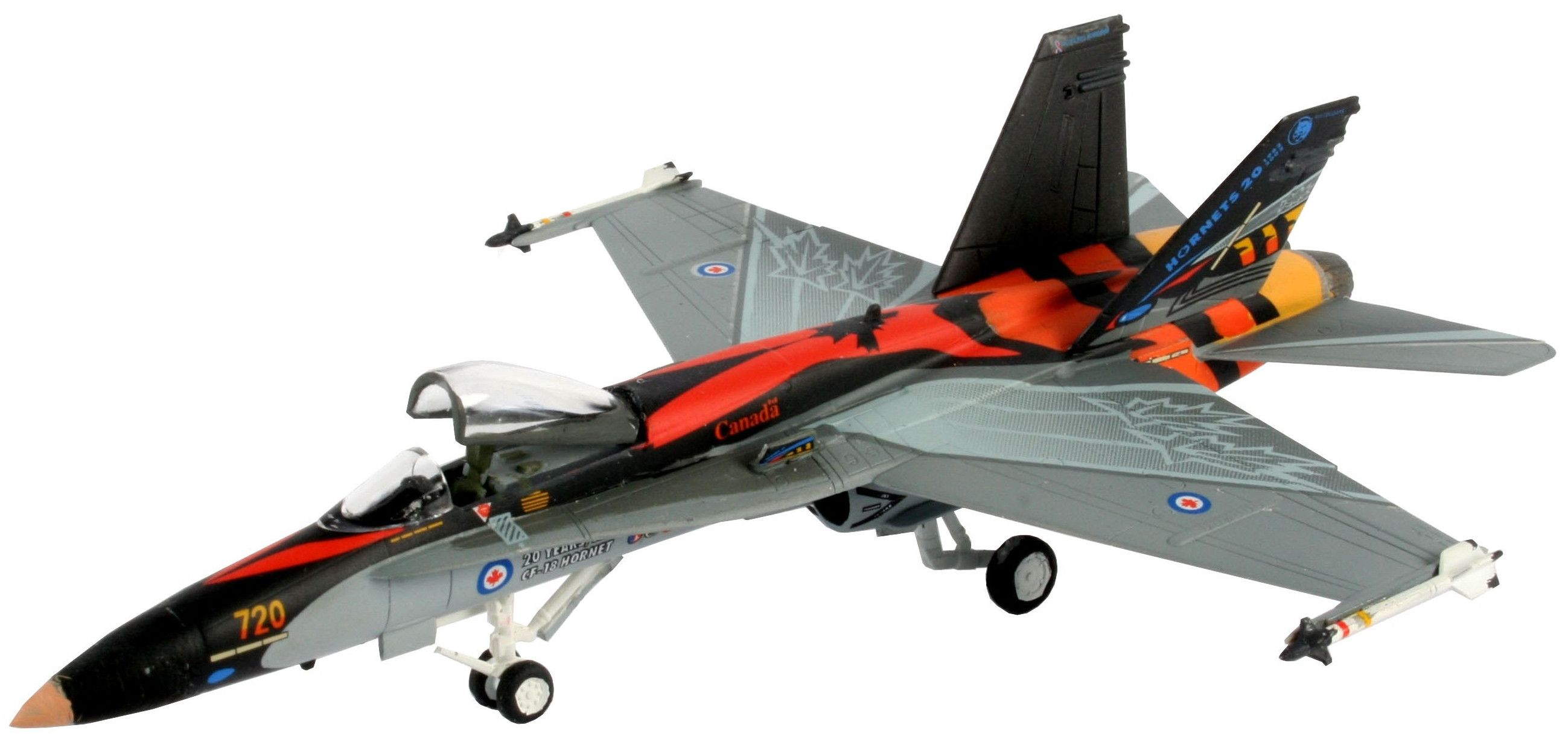 Сглобяем модел на военен самолет Revell - F/A18-C Hornet (04001) - 1