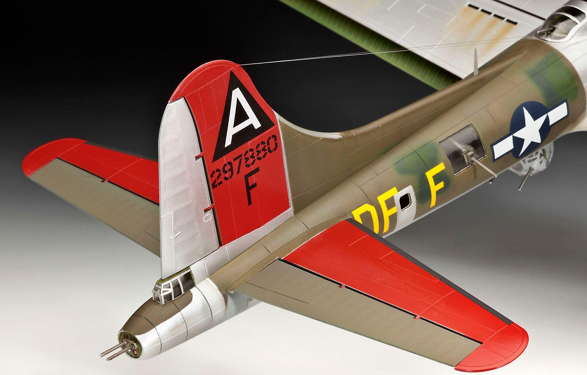 Сглобяем модел на военен самолет Revell - B-17G Flying Fortress (04283) - 4
