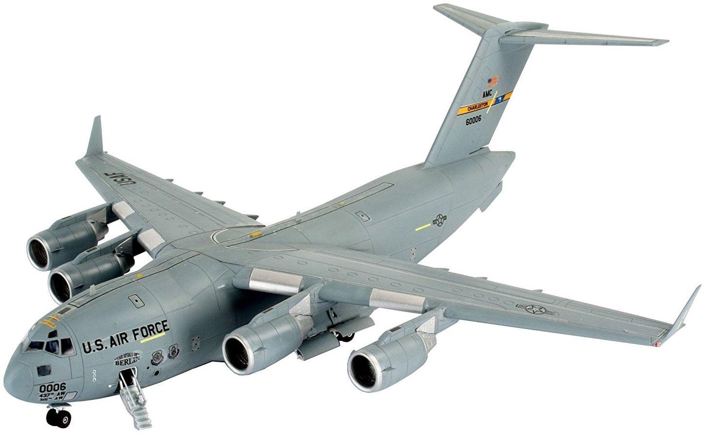 Сглобяем модел на военен самолет Revell - C-17 Qatar/RAF (04674) - 1