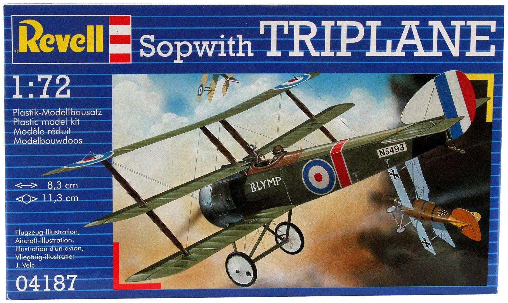 Сглобяем модел на военен самолет Revell - Sopwith Triplane (04187) - 6