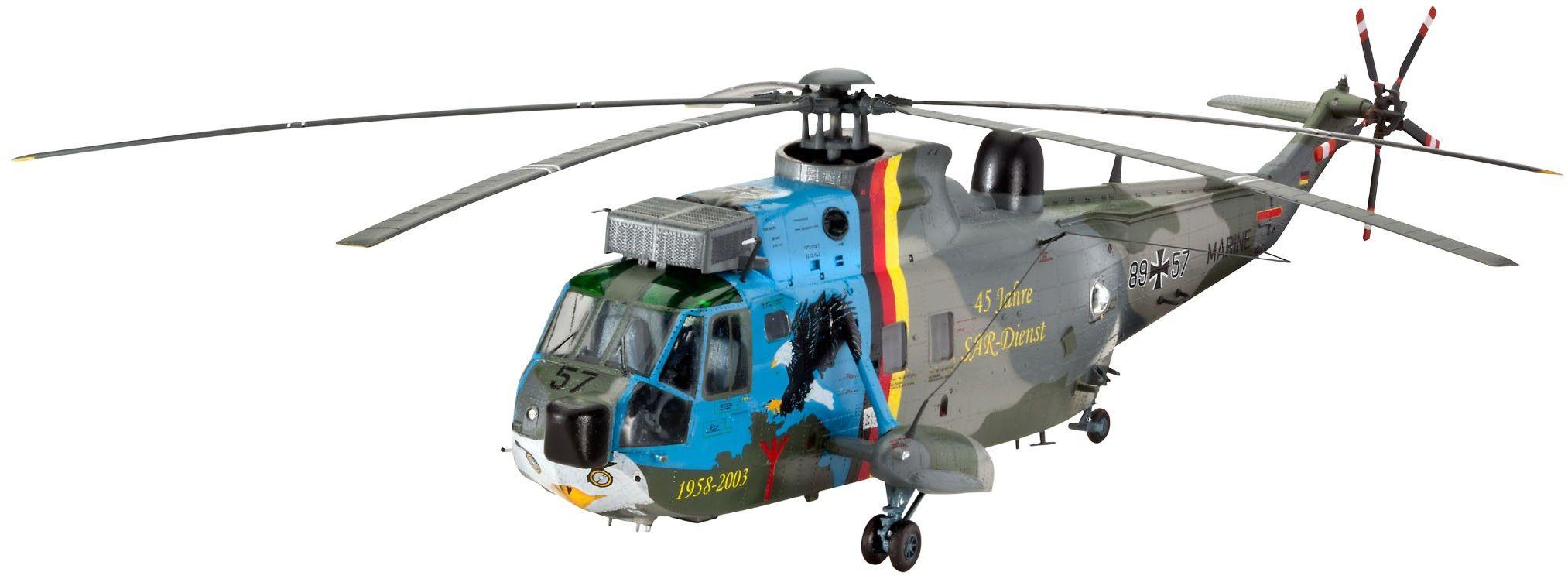 Сглобяем модел на военен хеликоптер Revell Westland - Sea King Mk.41 (45 years SAR) (04899) - 1