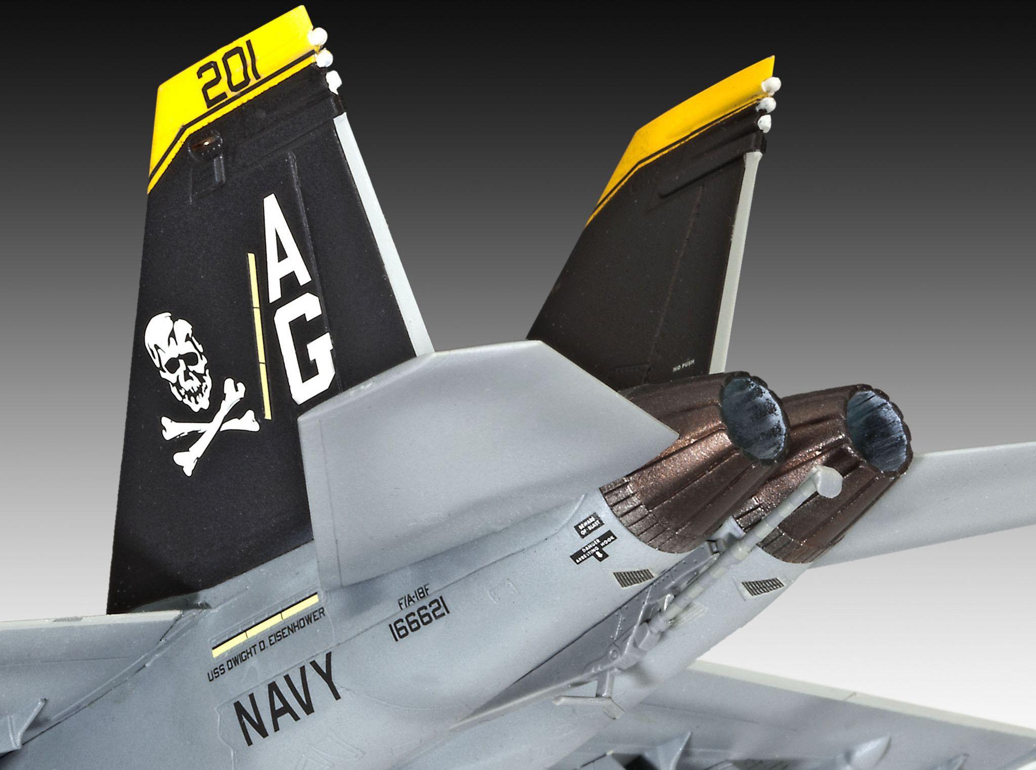 Сглобяем модел на изтребител Revell - F/A-18F SUPER HORNET twin seater (04864) - 4