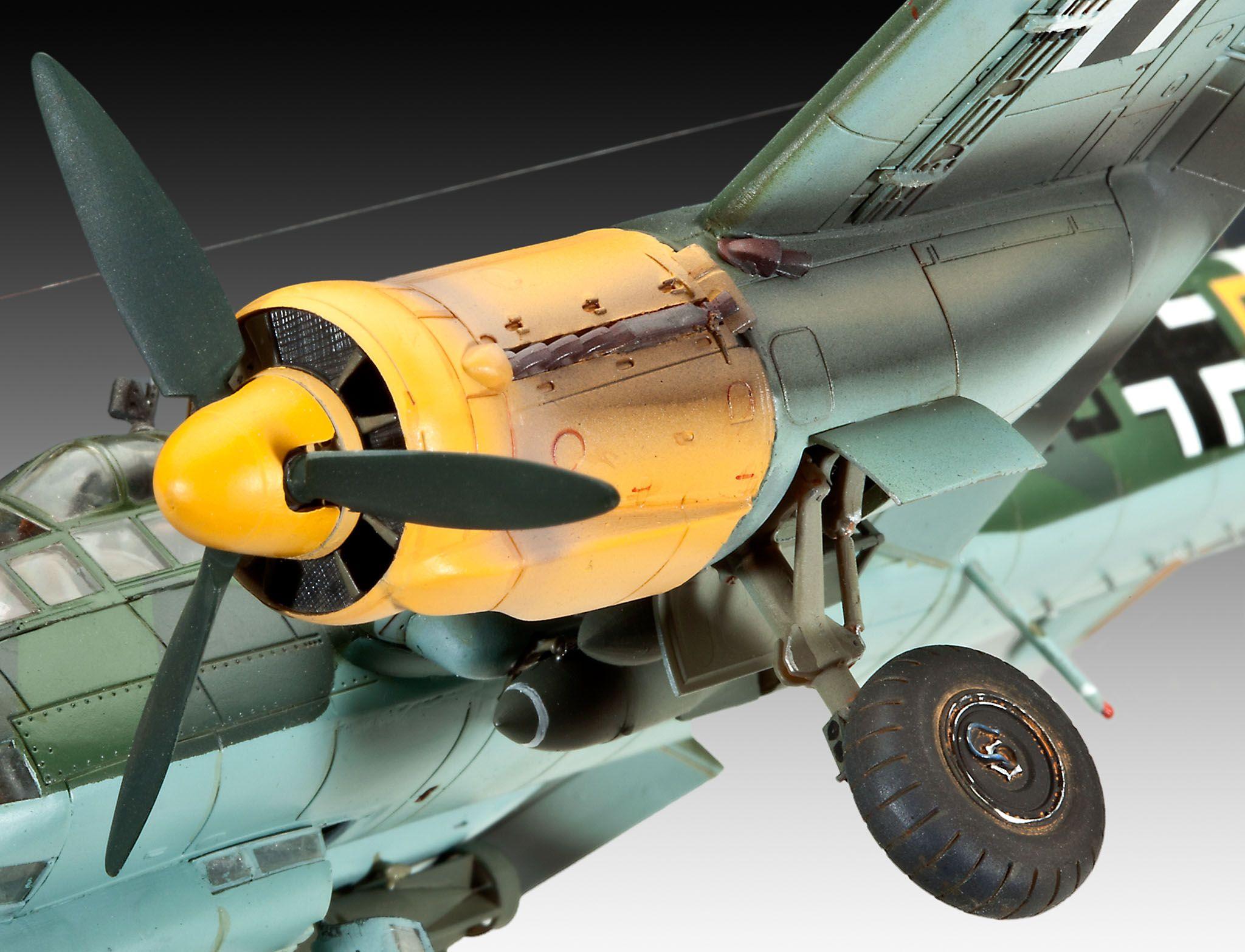 Сглобяем модел на военен самолет Revell Junkers - Ju88 A-4 Bomber (04672) - 3
