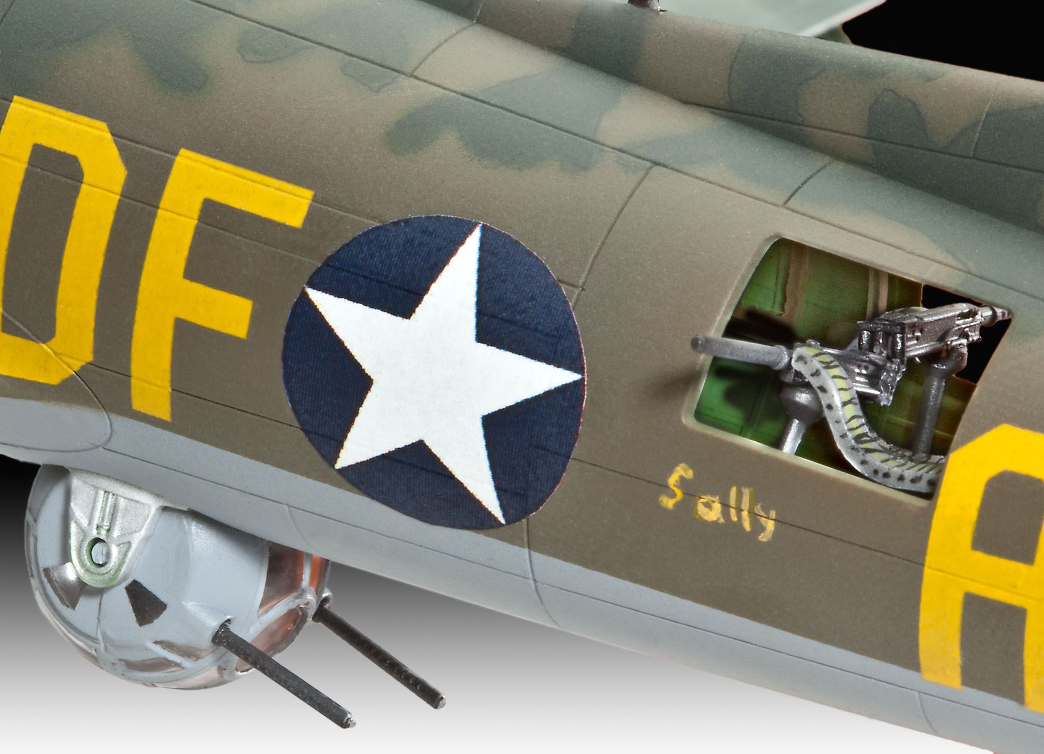 "Сглобяем модел на военен самолет Revell - B-17F ""Memphis Belle"" (04279) - 4"