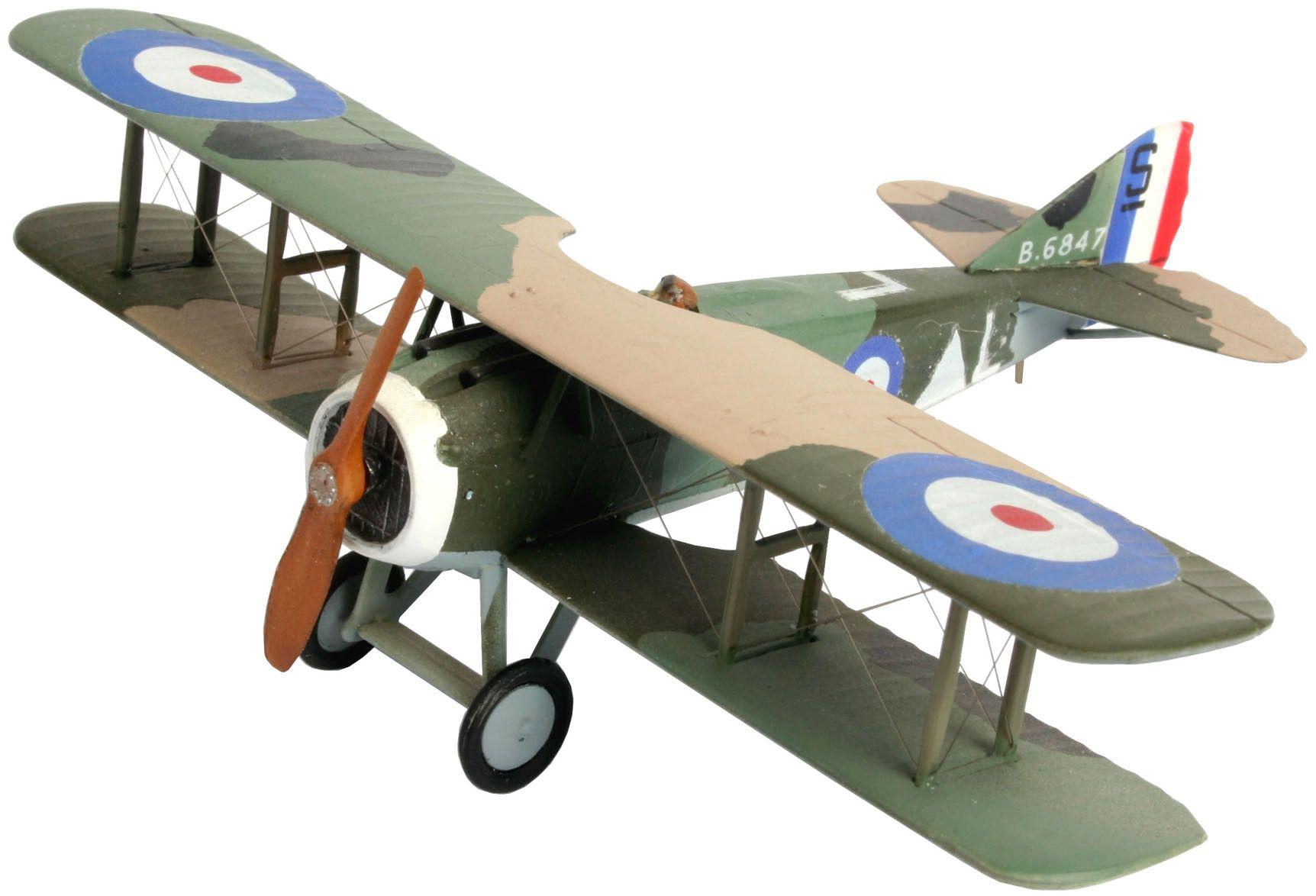Сглобяем модел на военен самолет Revell - Spad XIII C-1 (04192) - 1