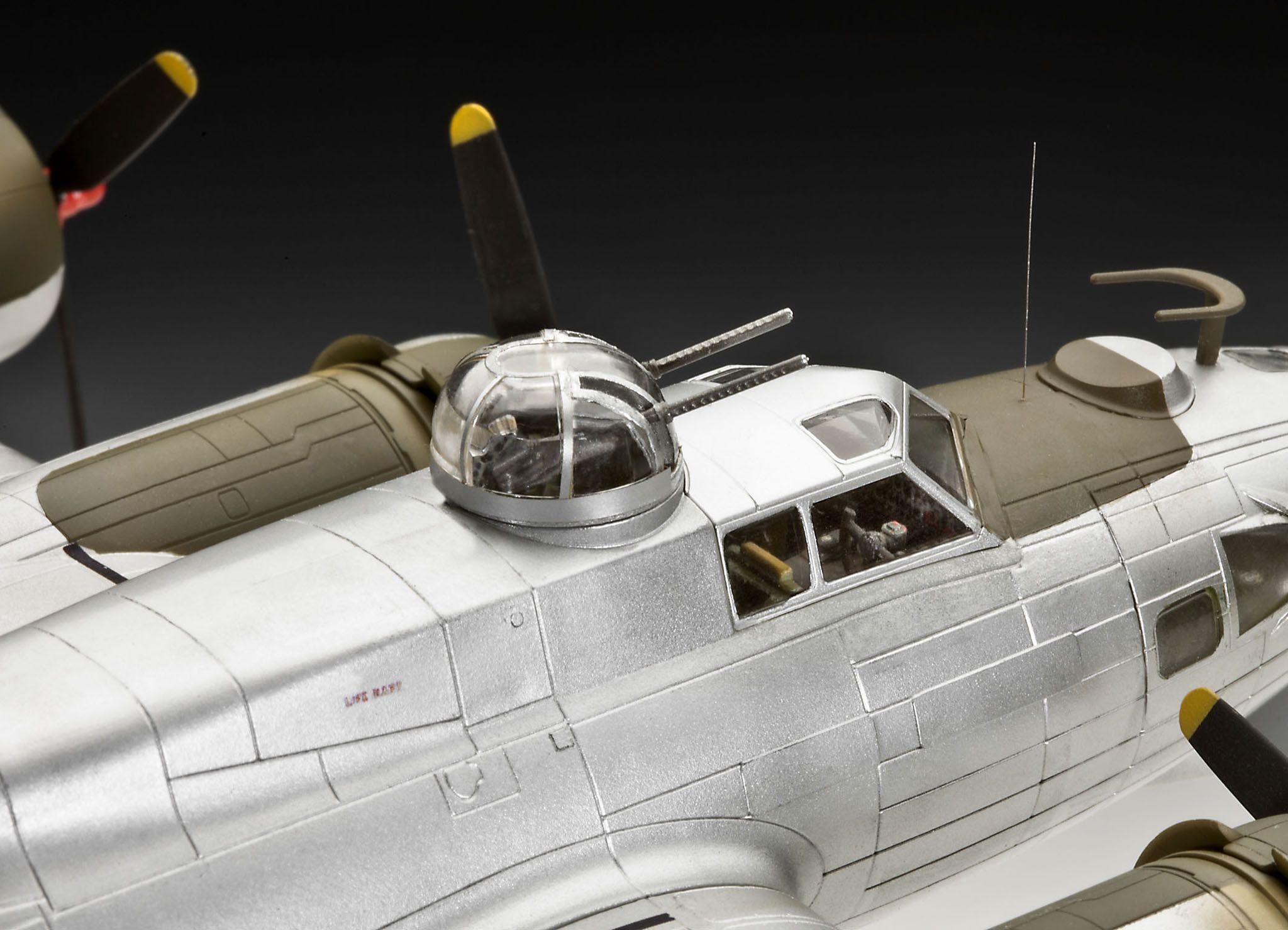 Сглобяем модел на военен самолет Revell - B-17G Flying Fortress (04283) - 5
