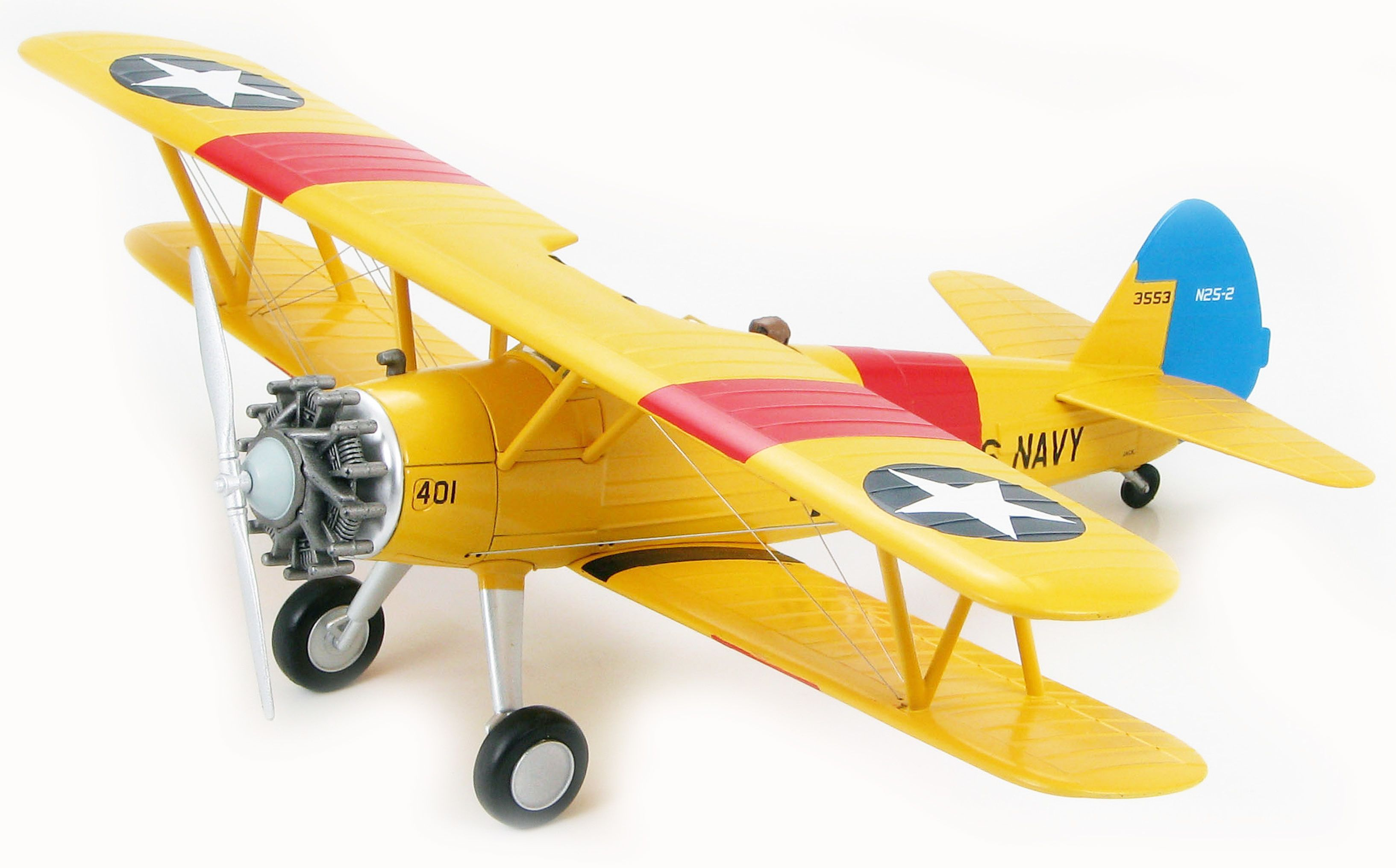 Сглобяем модел на самолет Revell - Stearman KAYDET (04676) - 1