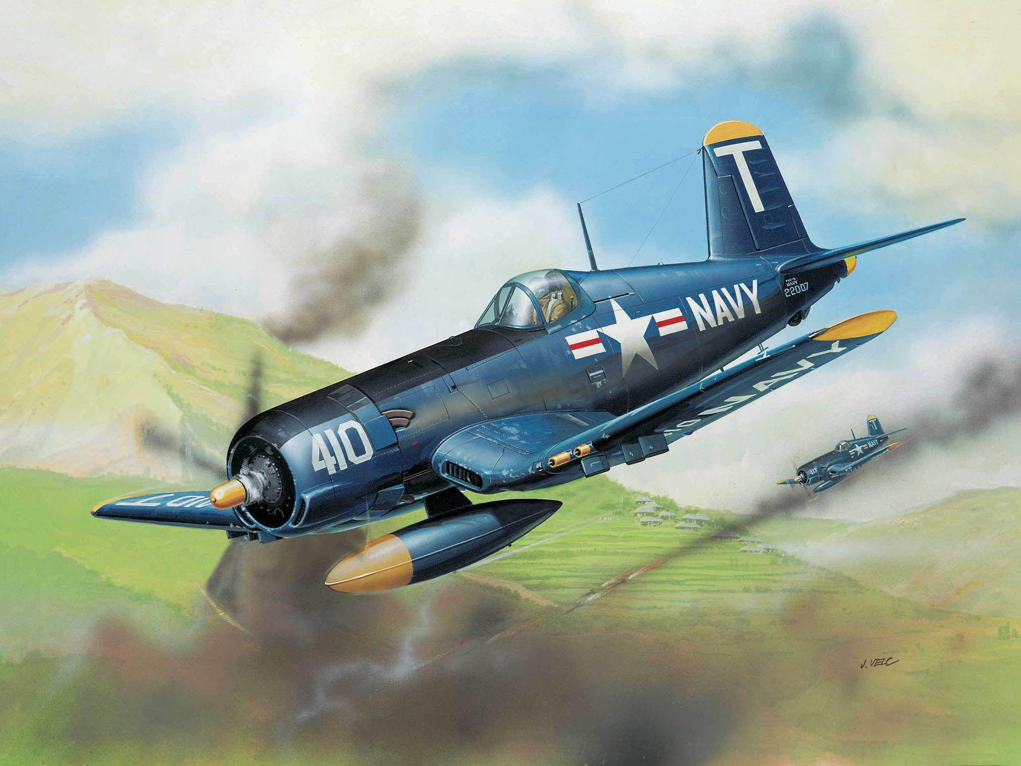 Сглобяем модел на военен самолет Revell - F4U-5 Corsair (04143) - 3