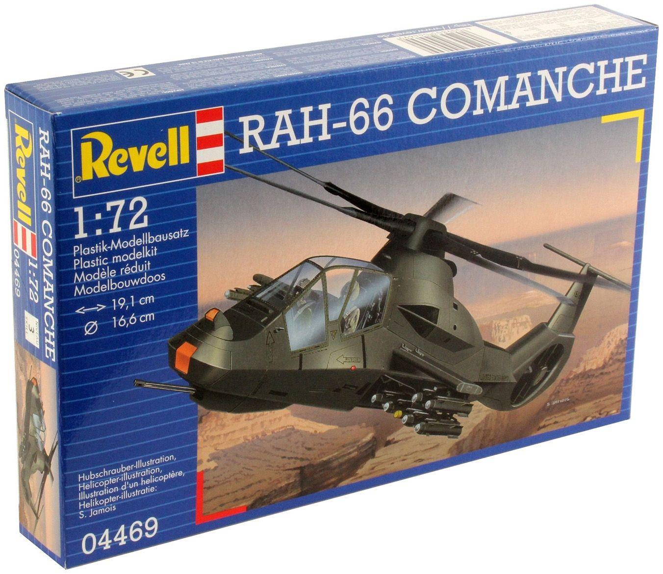 Сглобяем модел на военен хеликоптер Revell - RAH.66 Comanche (04469) - 3
