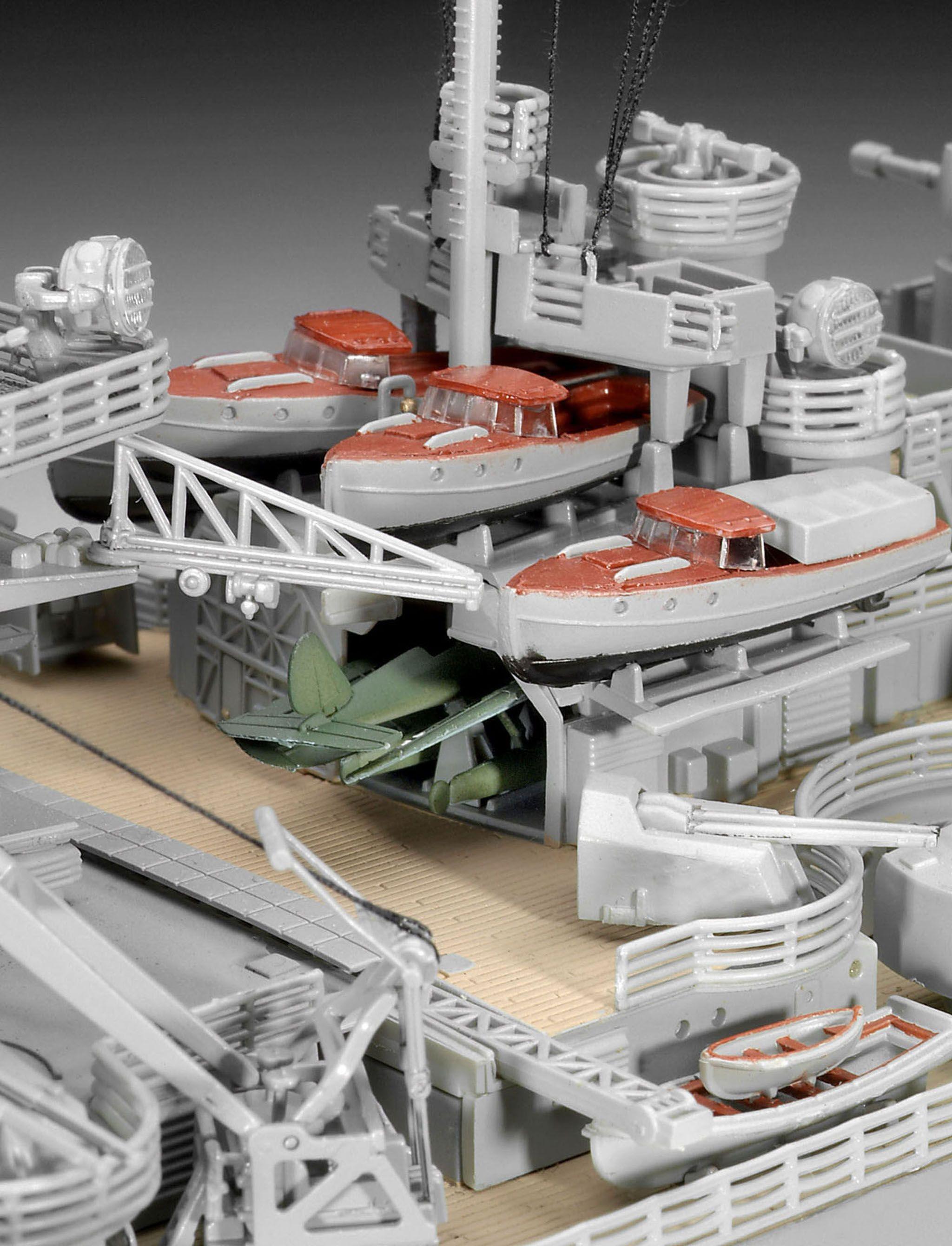 Сглобяем модел на военен кораб Revell - Battleship BISMARCK (05040) - 6
