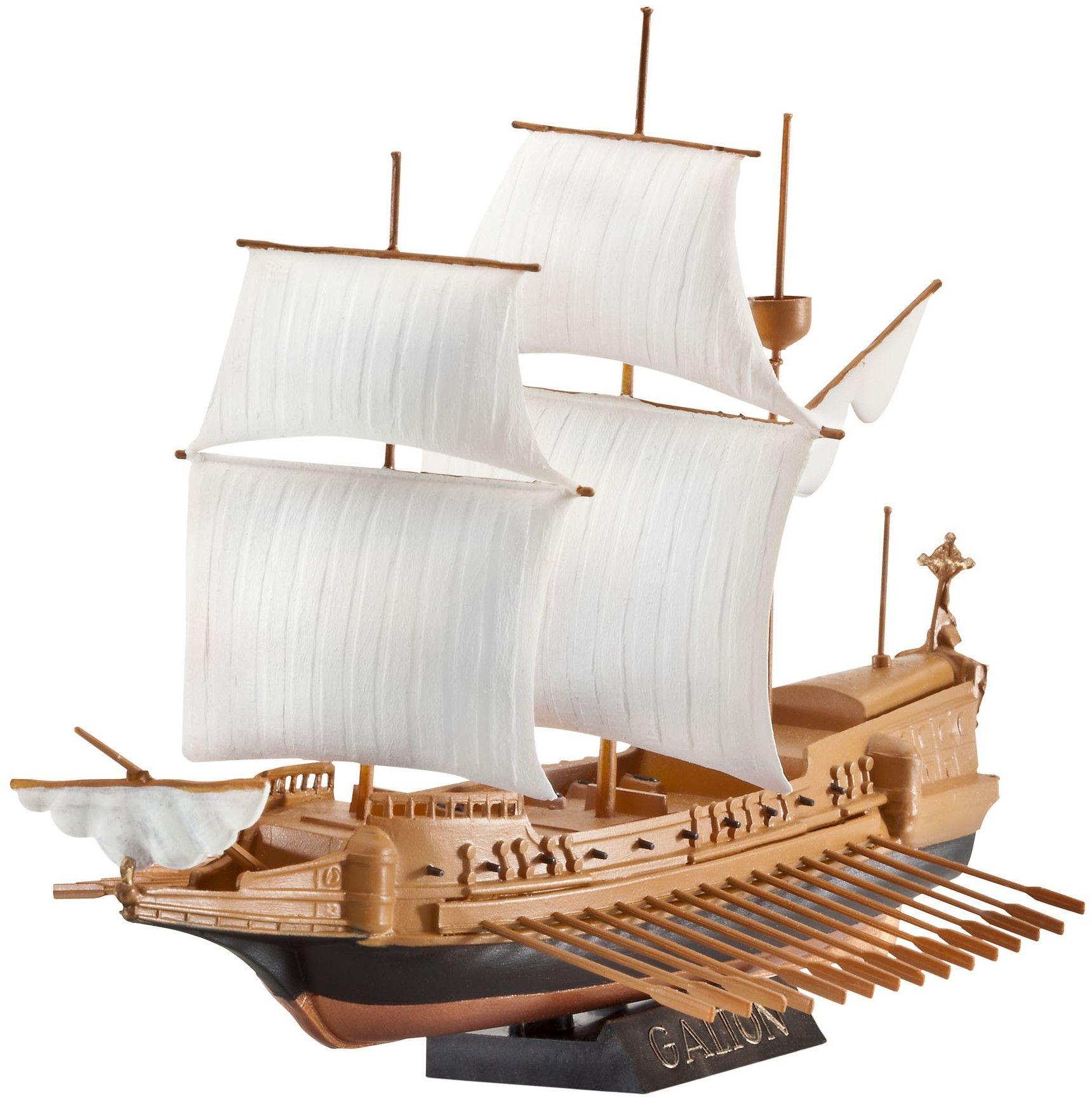 Сглобяем модел на кораб Revell - Spanish Galleon (05899) - 1