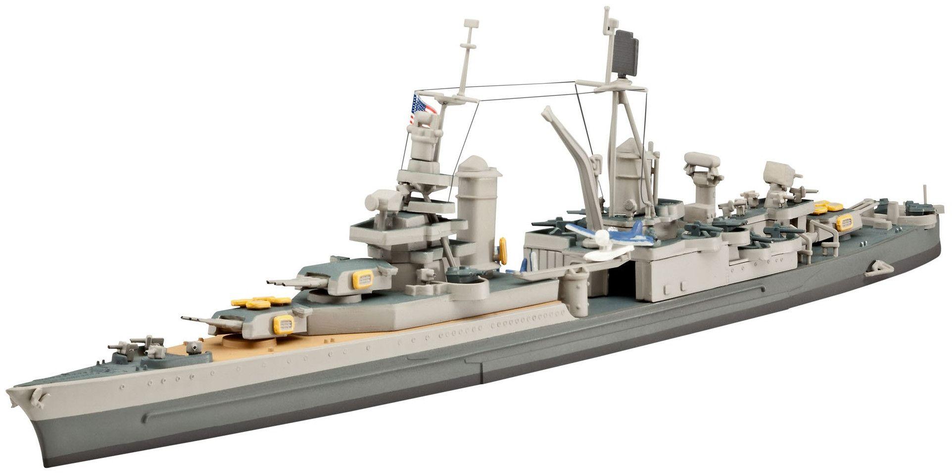 Сглобяем модел на военен кораб Revell - U.S.S. Indianapolis (CA-35) (05111) - 1