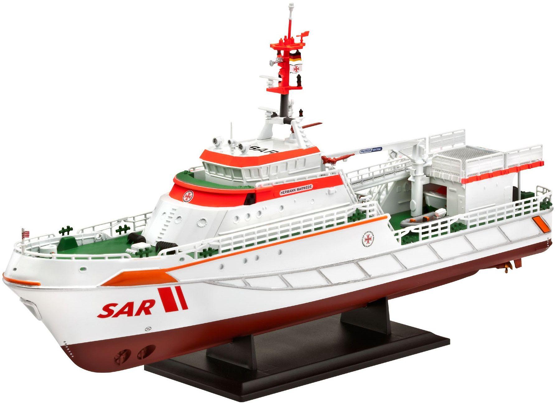 Сглобяем модел на кораб Revell - DGzRS Hermann Marwede (05812) - 1
