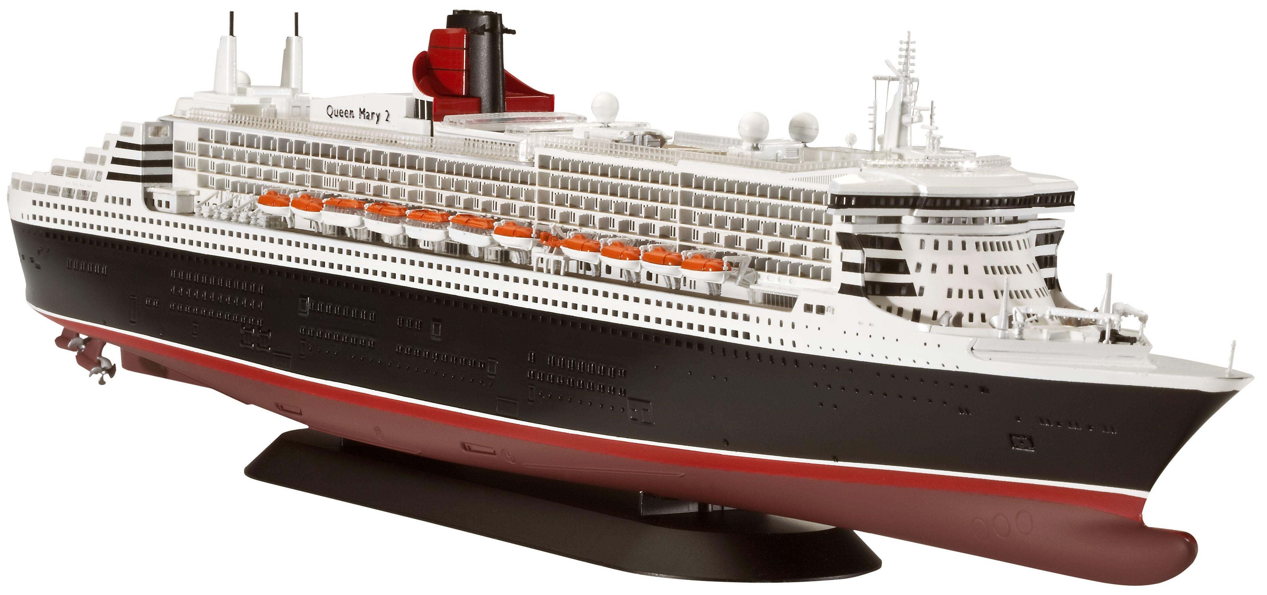 Сглобяем модел на пътнически кораб Revell - Ocean Liner Queen Mary 2 (05227) - 1