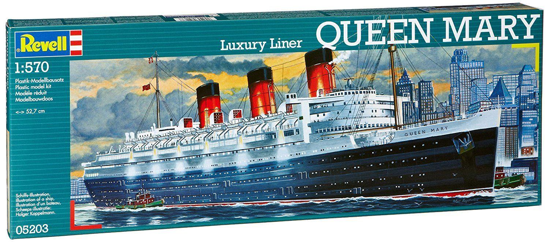 Сглобяем модел на пътнически кораб Revell - Queen Mary (05203) - 3