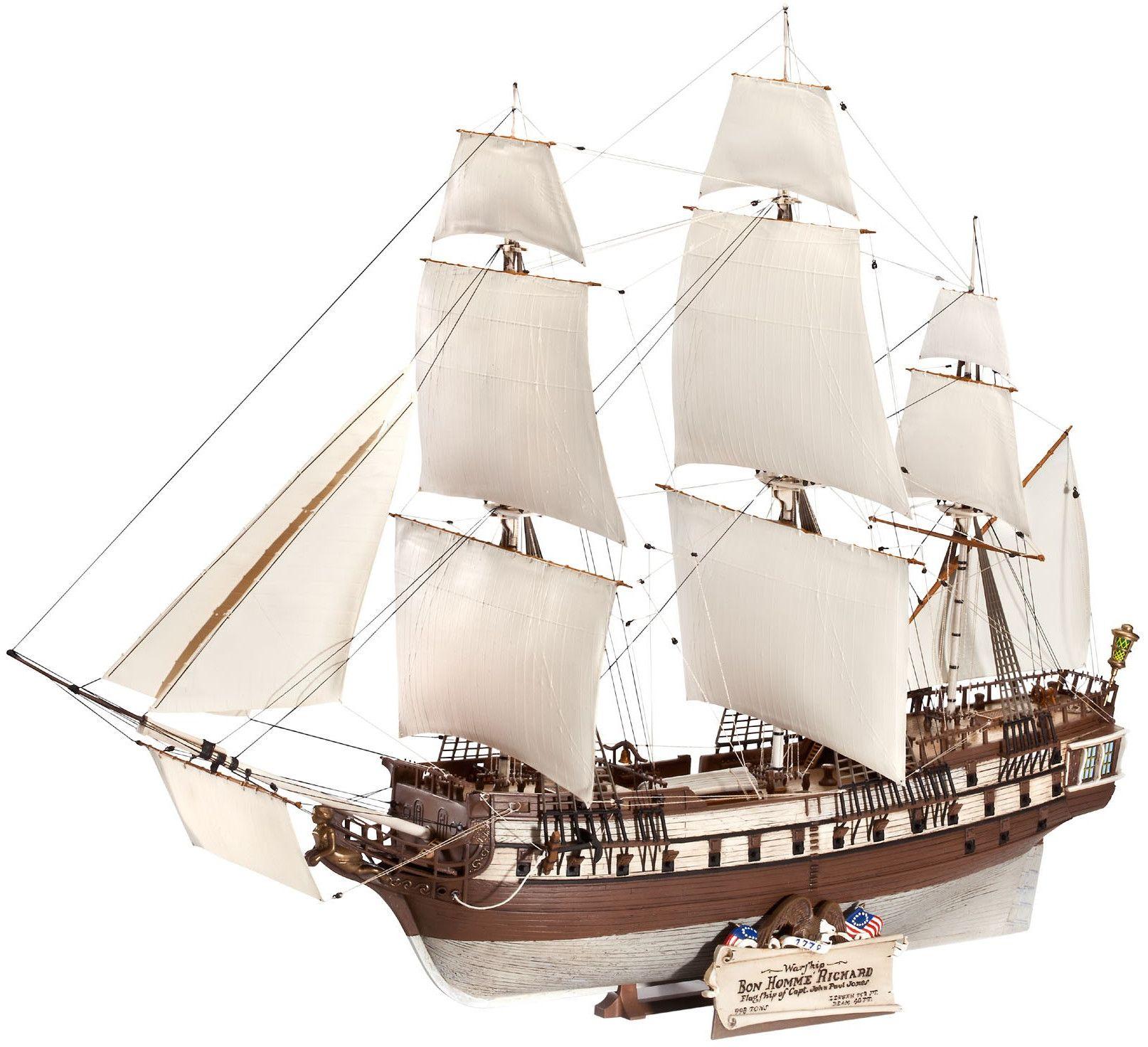 Сглобяем модел на кораб Revell - U.S.S. BonHomme Richard (05113) - 1