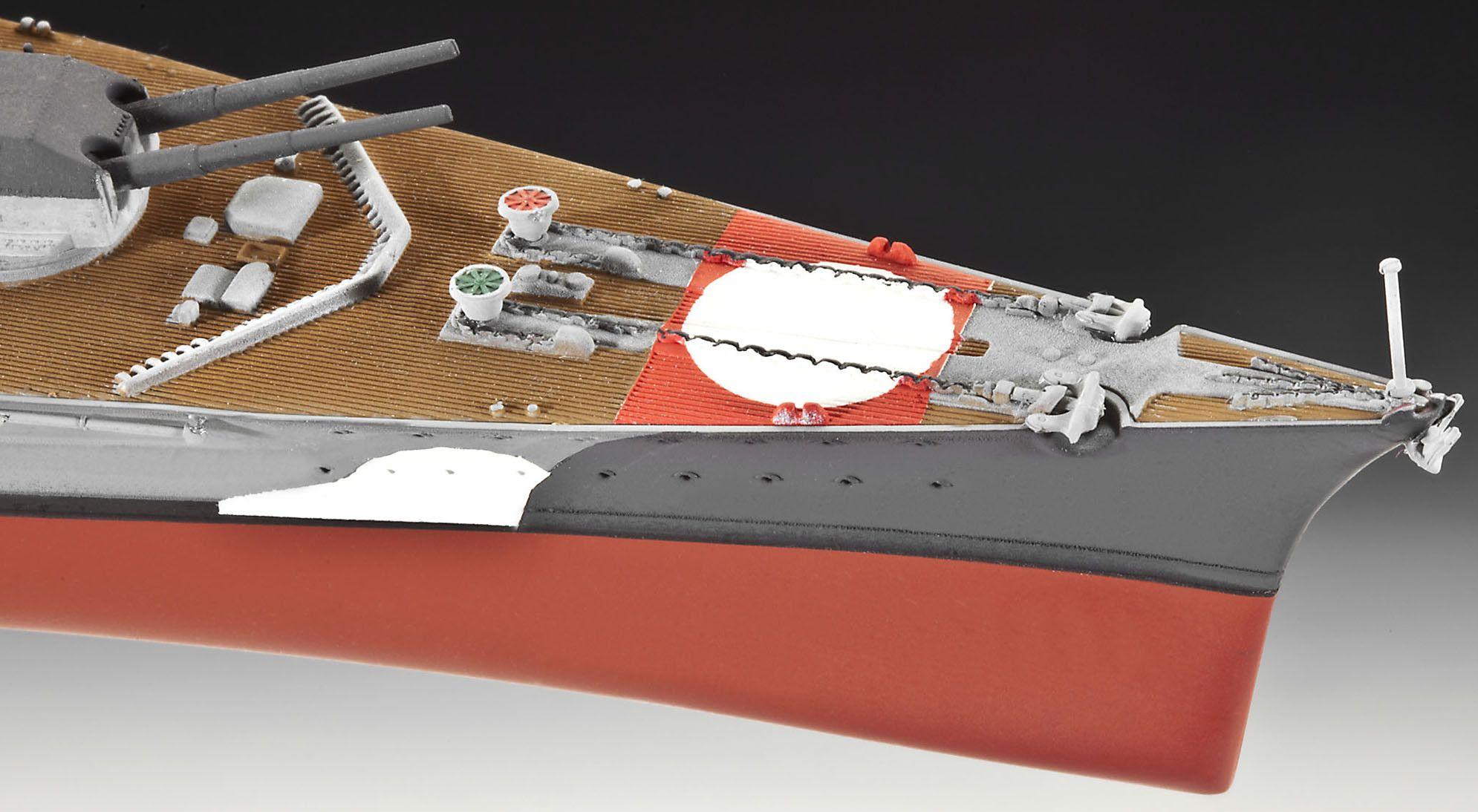 Сглобяем модел на военен кораб Revell - Battleship BISMARCK (05098) - 5
