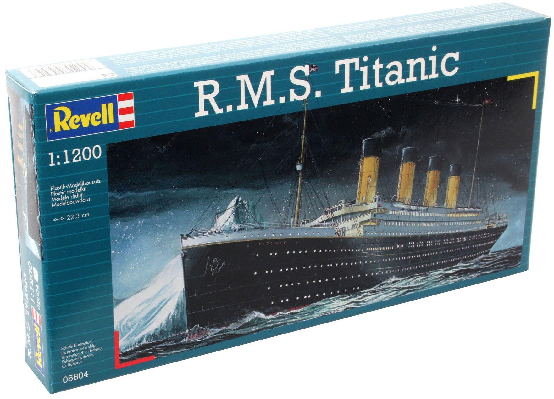 Сглобяем модел на пътнически кораб Revell - R.M.S. Titanic (05804) - 3