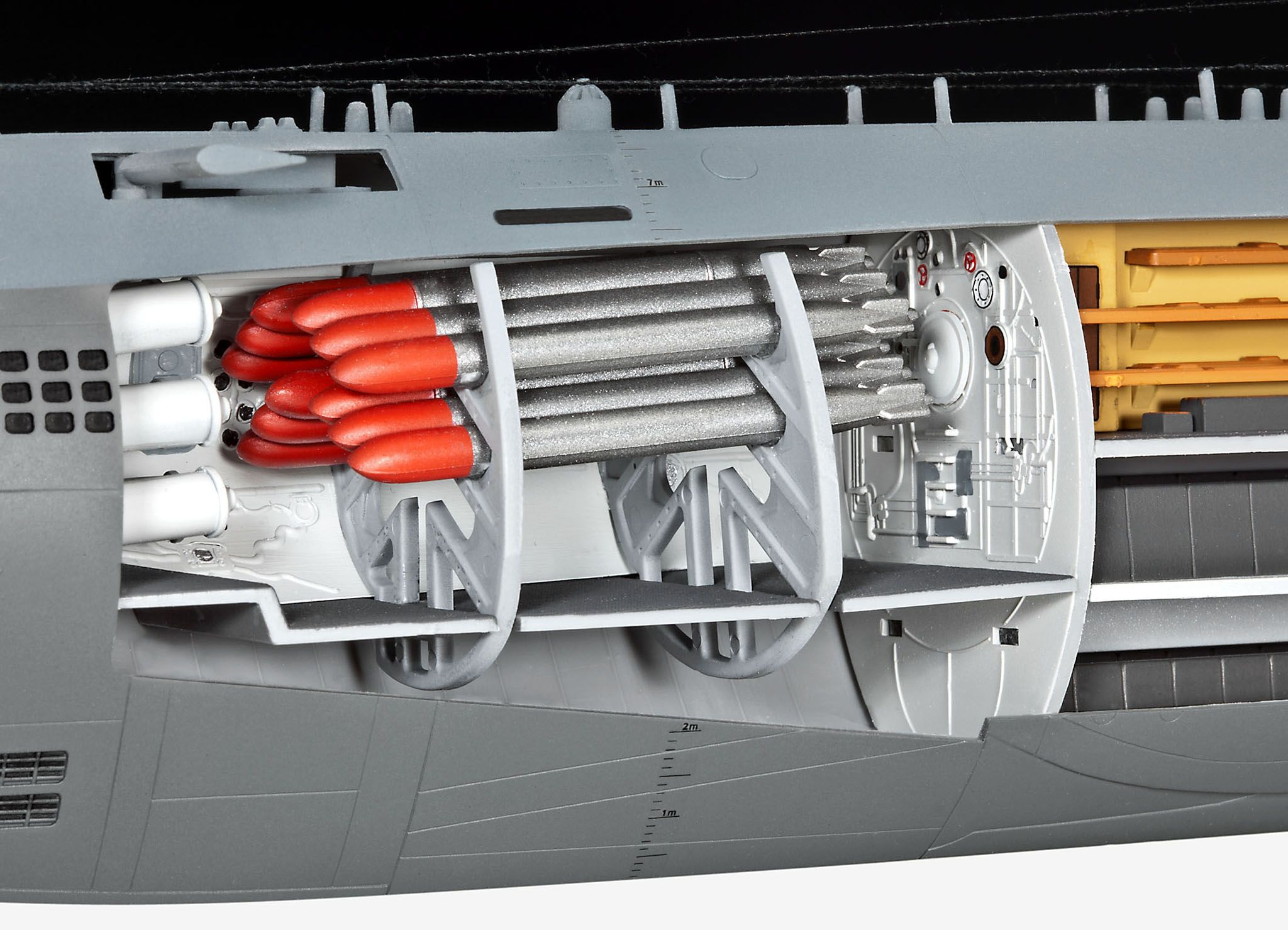 Сглобяем модел на подводница Revell - U-Boat Typе XXI (05078) - 3