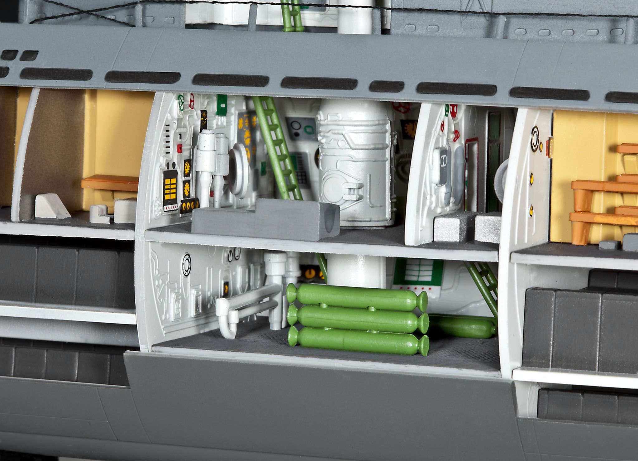Сглобяем модел на подводница Revell - U-Boat Typе XXI (05078) - 5