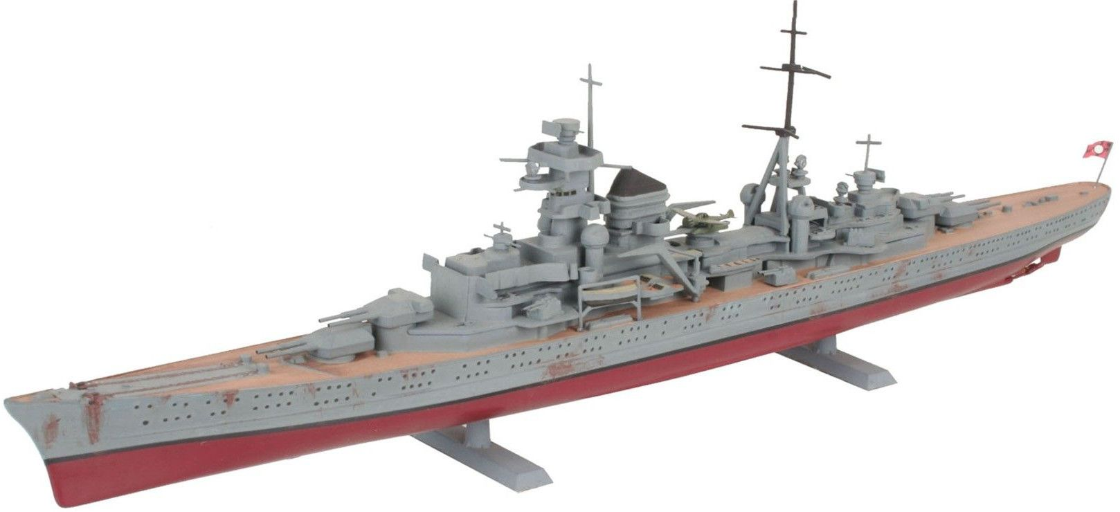 Сглобяем модел на военен кораб Revell - German Heavy Cruiser PRINZ EUGEN (05050) - 1