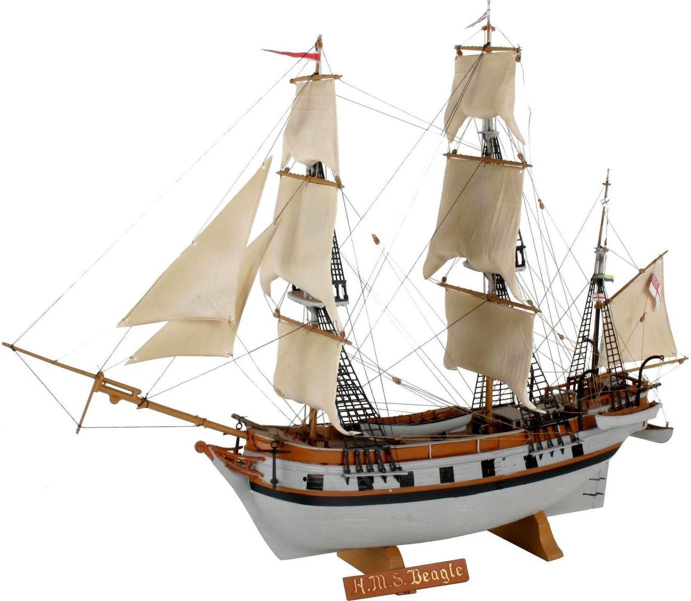 Сглобяем модел на ветроходен кораб Revell - H.M.S. (5458) - 1