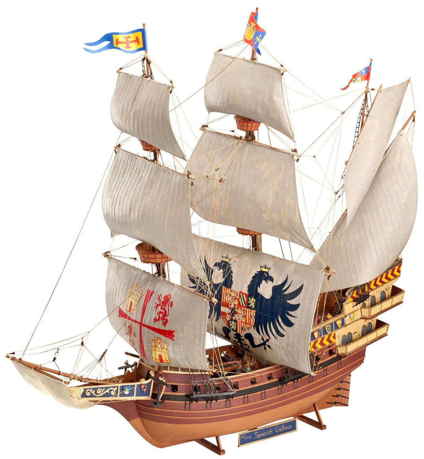 Сглобяем модел на кораб Revell - Spanish Galleon (05620) - 1