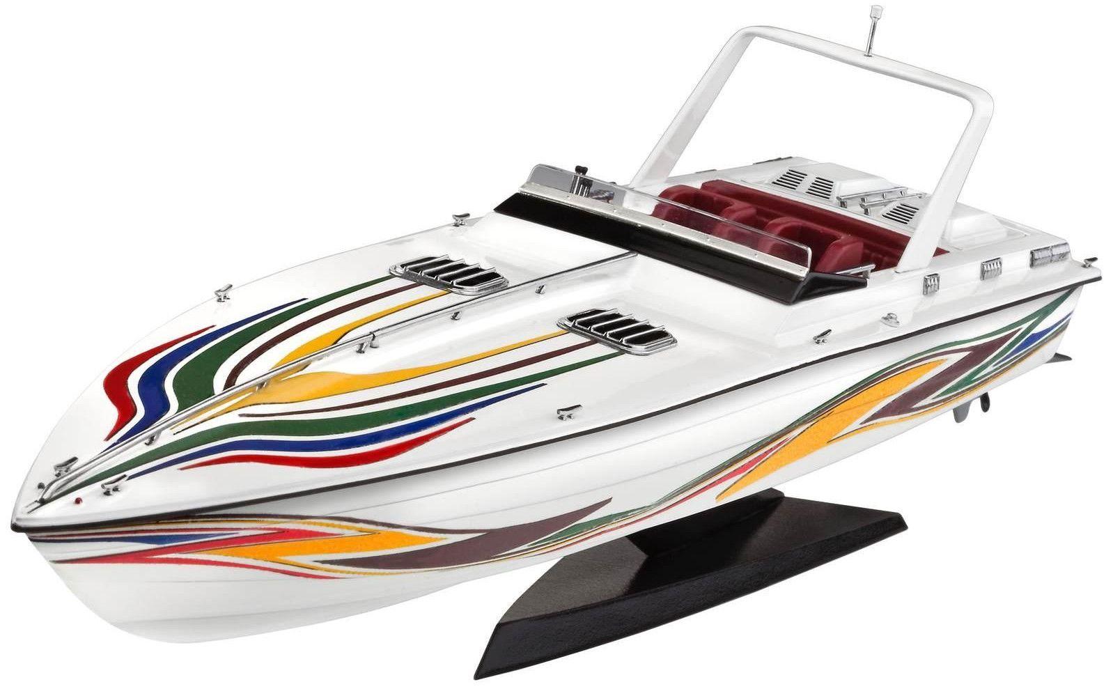 Сглобяем модел на лодка Revell - Power boat (05205) - 1
