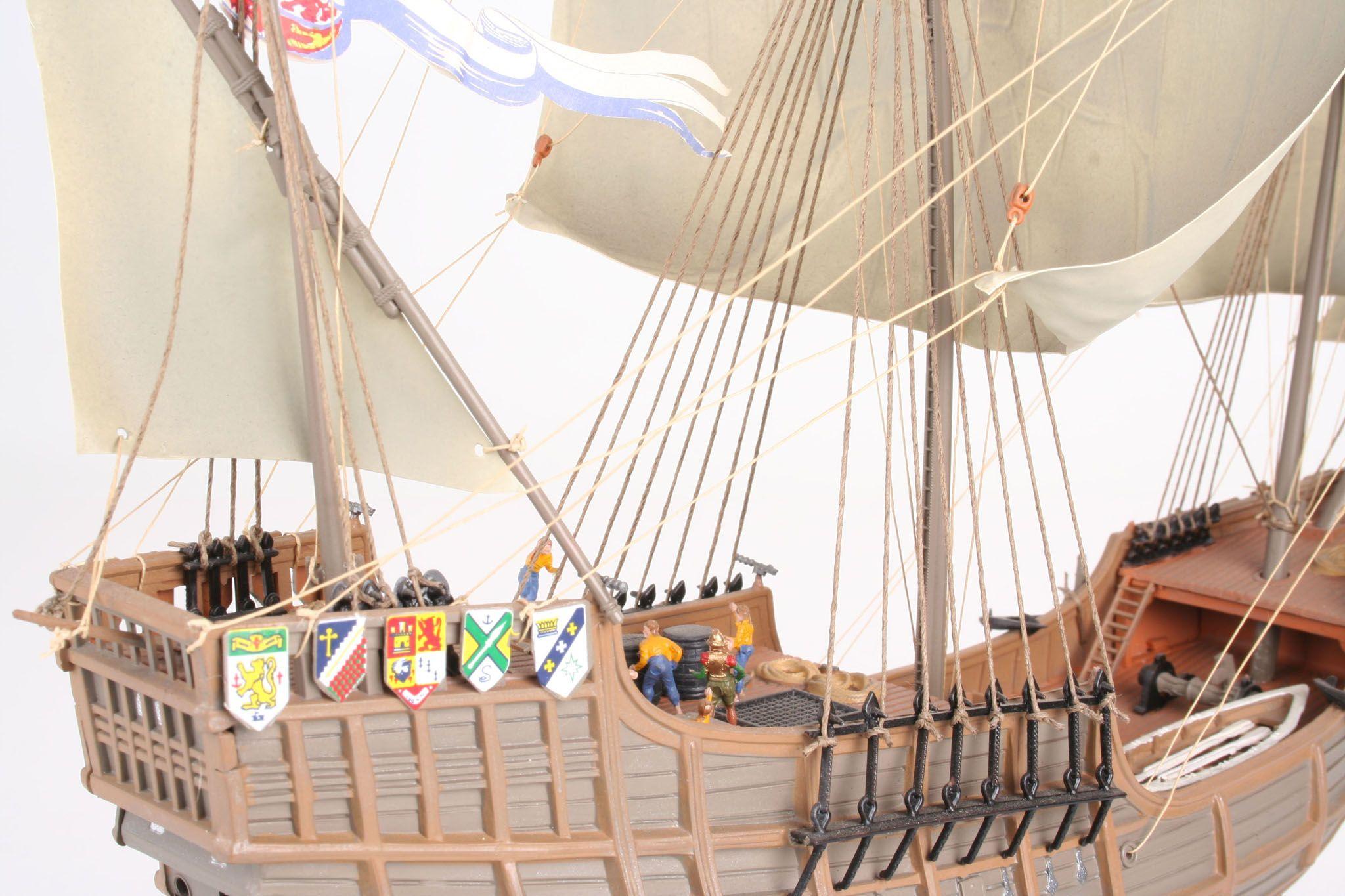 Сглобяем модел на кораб Revell - Columbus Ship SANTA MARIA (05405) - 4
