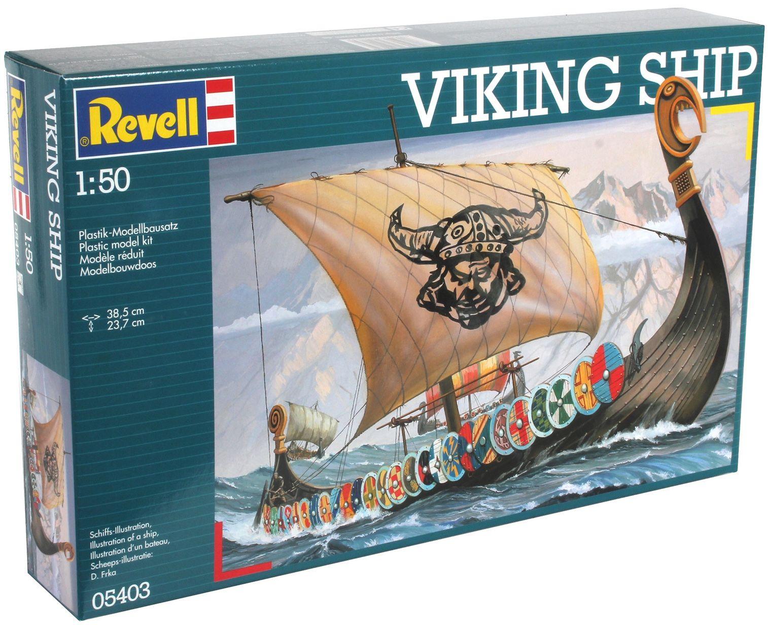 Сглобяем модел на кораб Revell - Viking Ship (05403) - 3