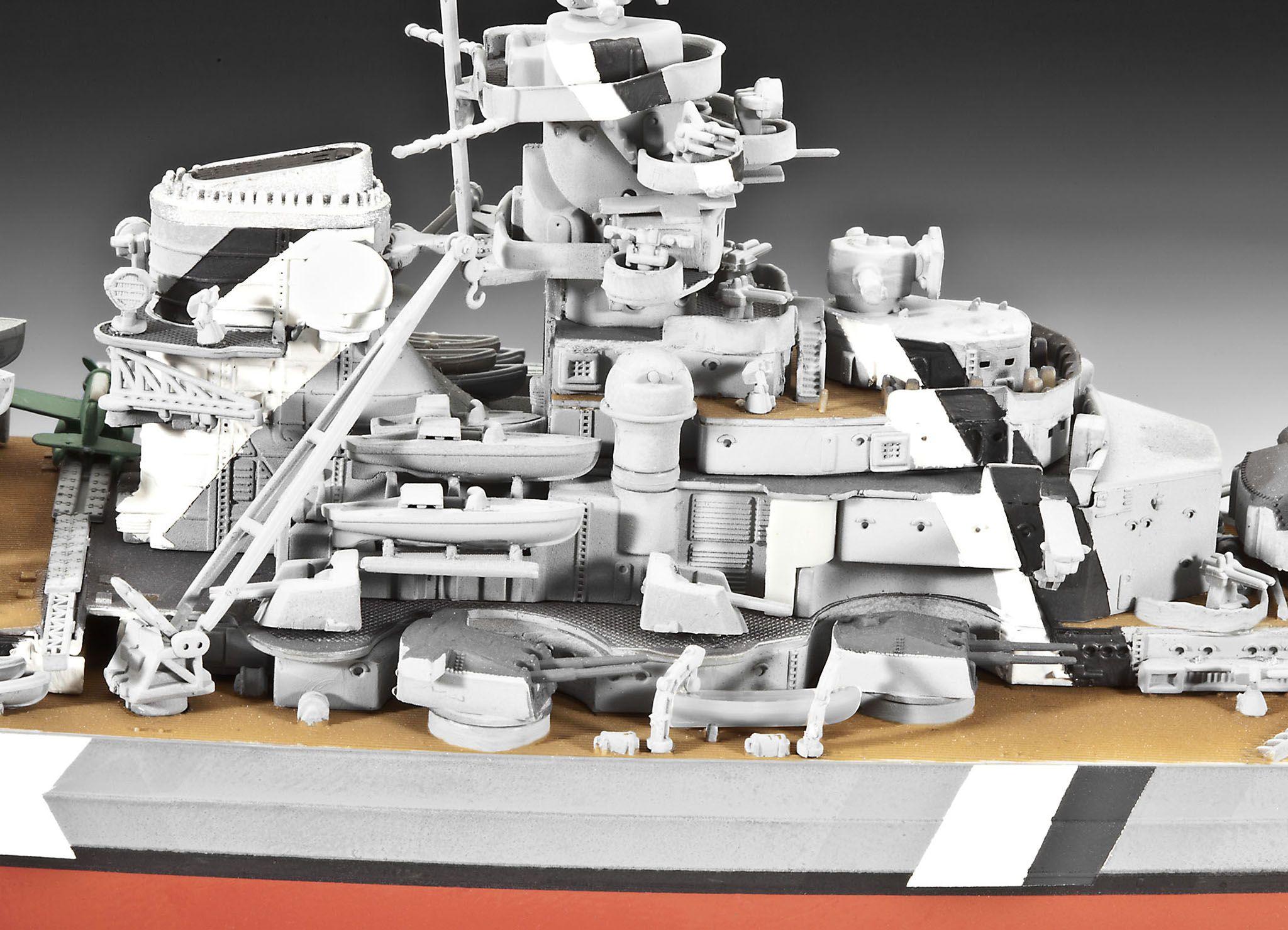 Сглобяем модел на военен кораб Revell - Battleship BISMARCK (05098) - 3
