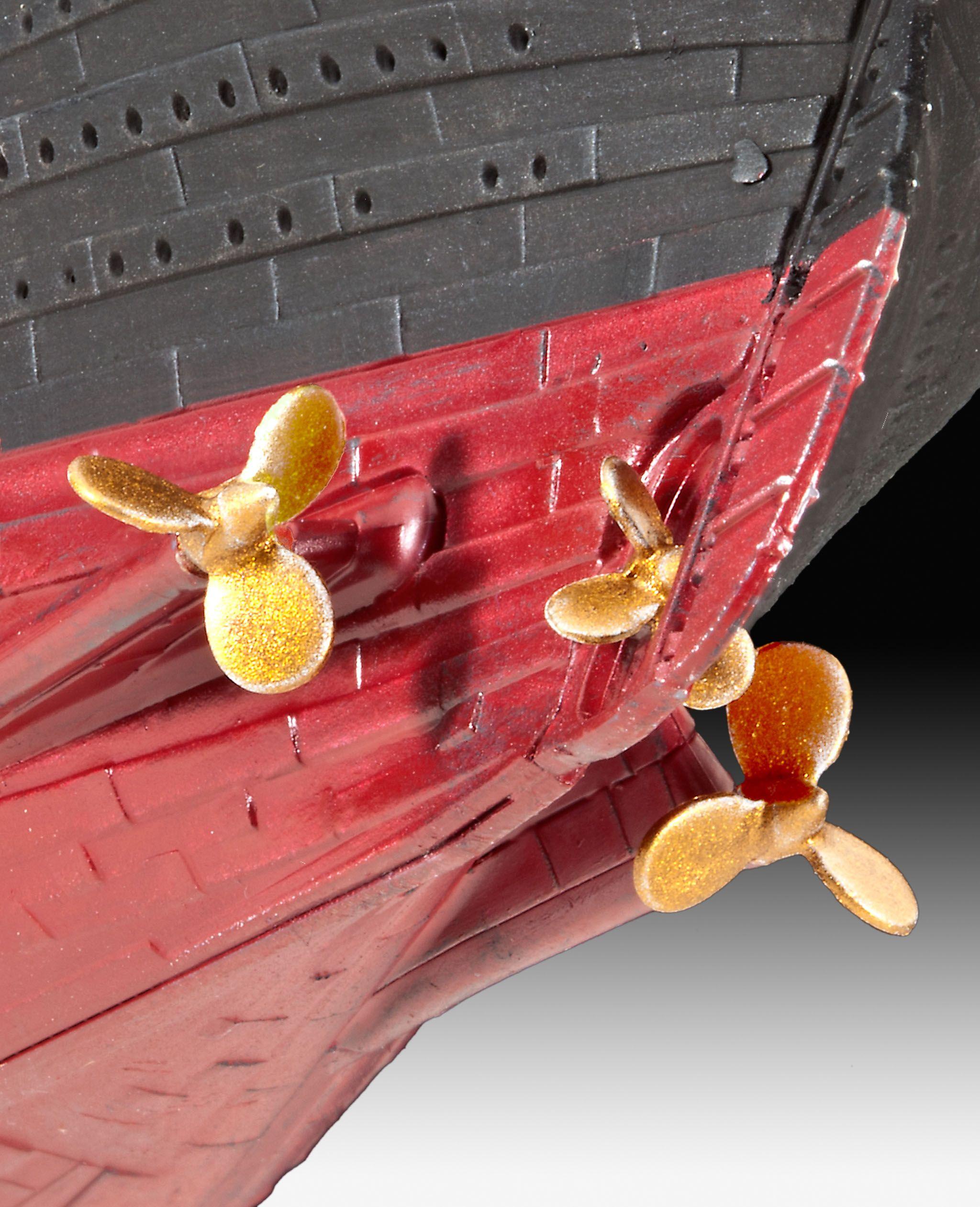 Сглобяем модел на пътнически кораб Revell - R.M.S. TITANIC (05210) - 4