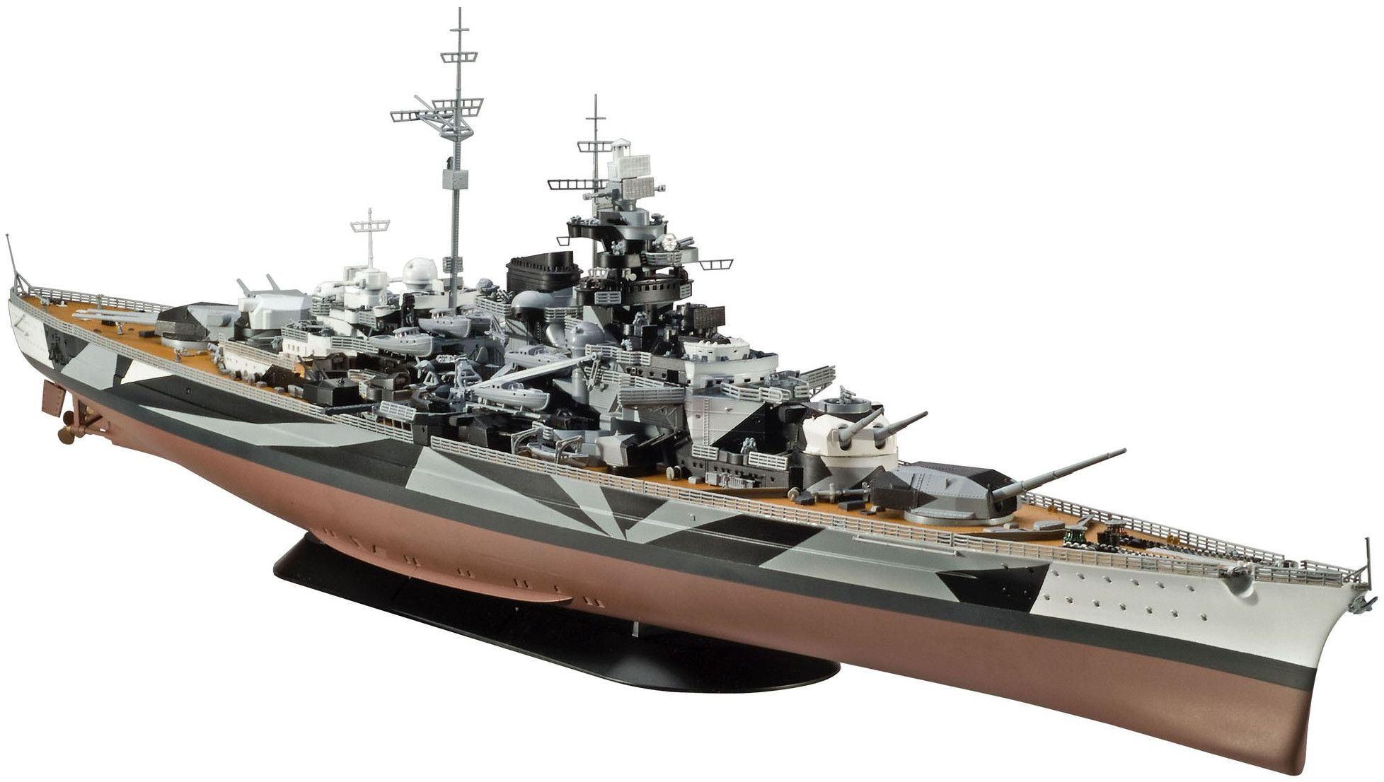 Сглобяем модел на кораб Revell - Battleship Tirpitz (05096) - 1