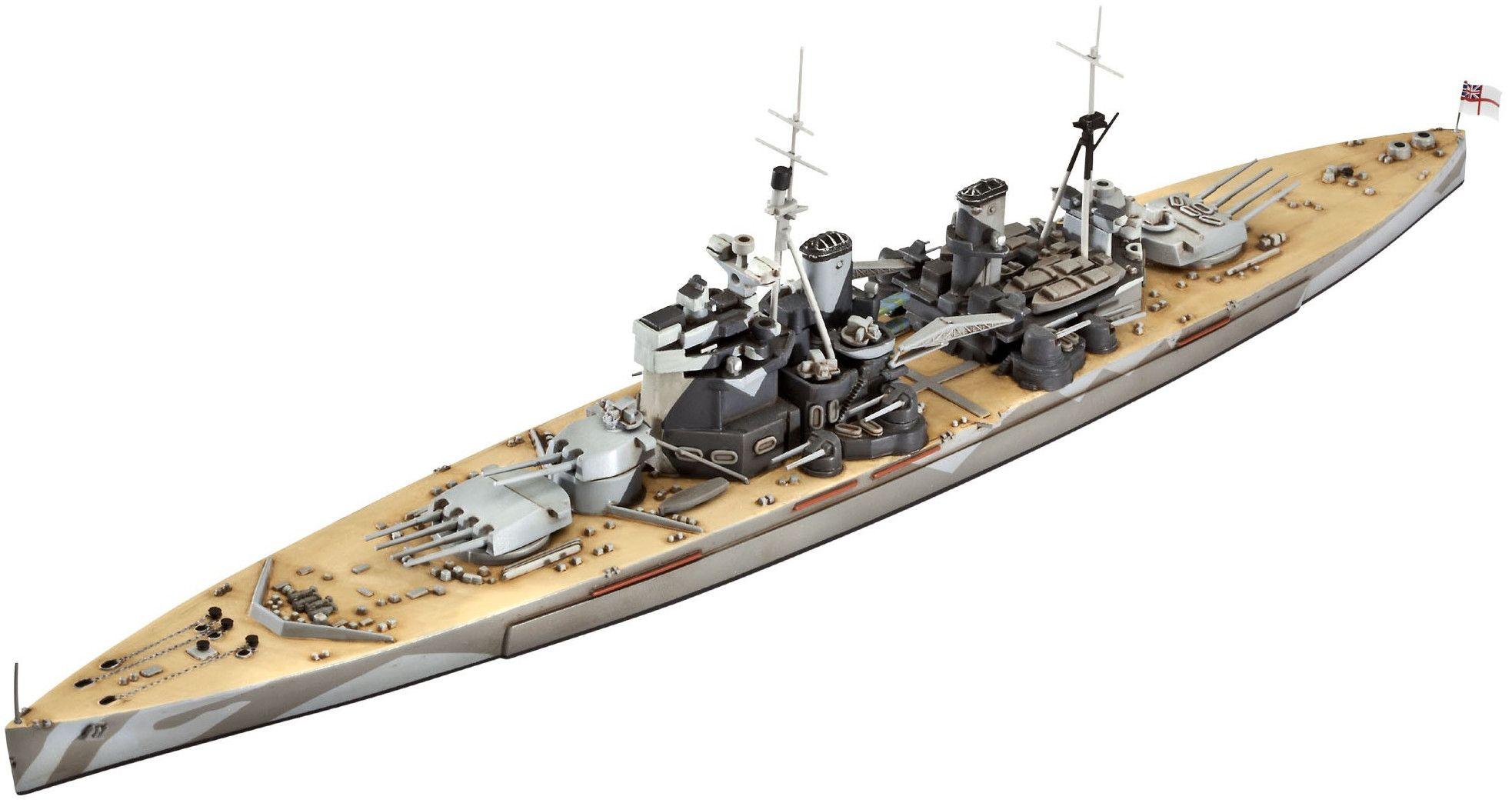 Сглобяем модел на кораб Revell - Battleship H.M.S. Duke of York (05105) - 1