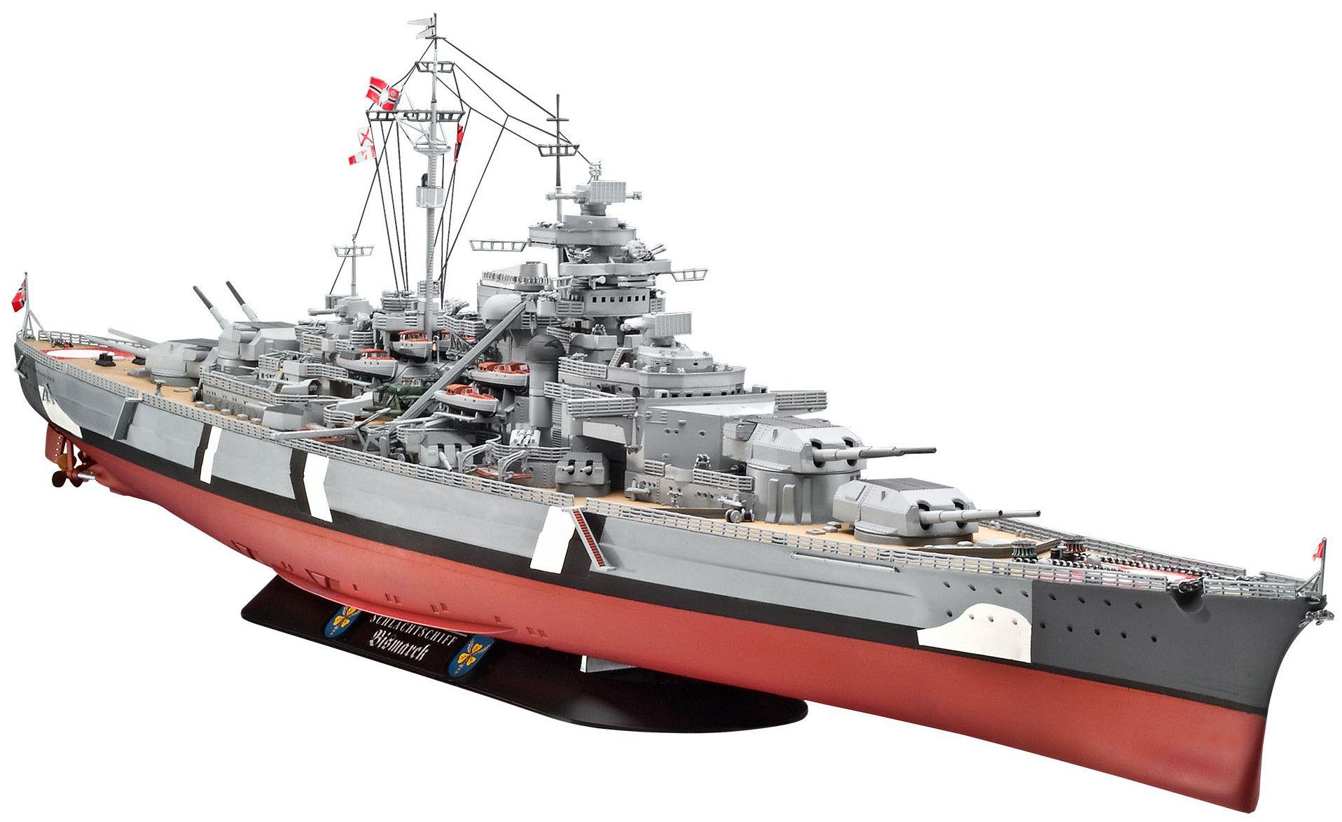 Сглобяем модел на военен кораб Revell - Battleship BISMARCK (05040) - 1