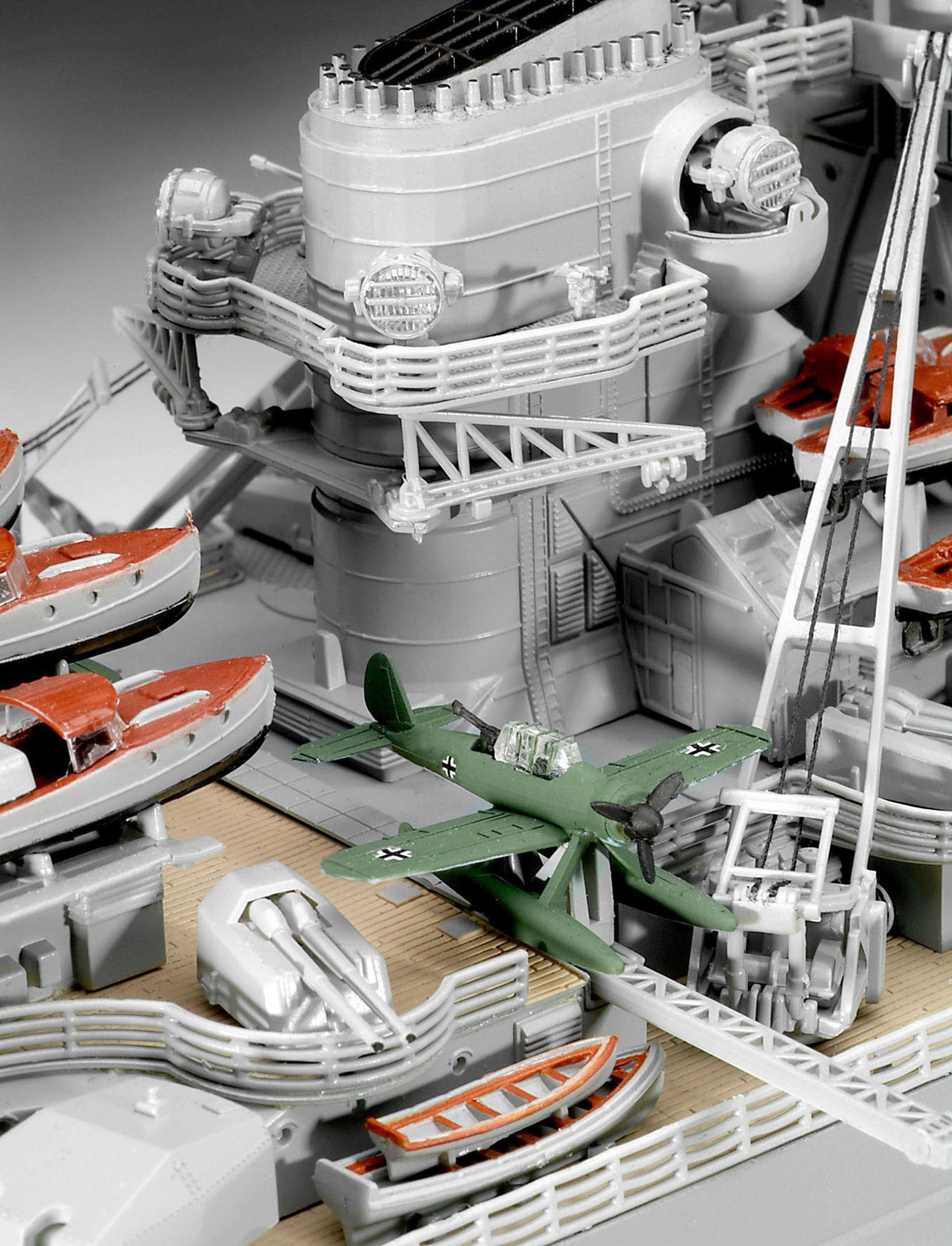 Сглобяем модел на военен кораб Revell - Battleship BISMARCK (05040) - 4
