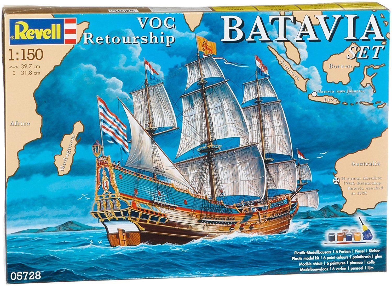 Сглобяем модел на кораб Revell - Batavia (05728) - 1