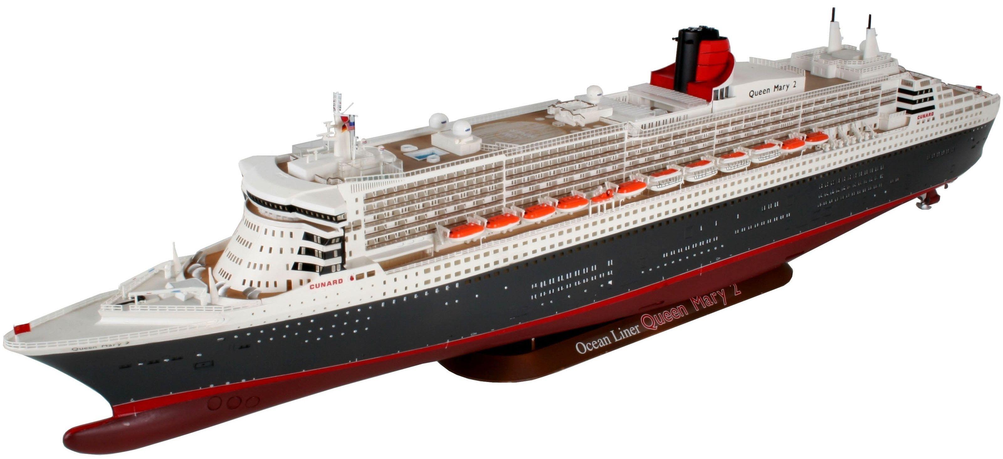 Сглобяем модел на пътнически кораб Revell - Ocean Liner Queen Mary 2 (05223) - 1
